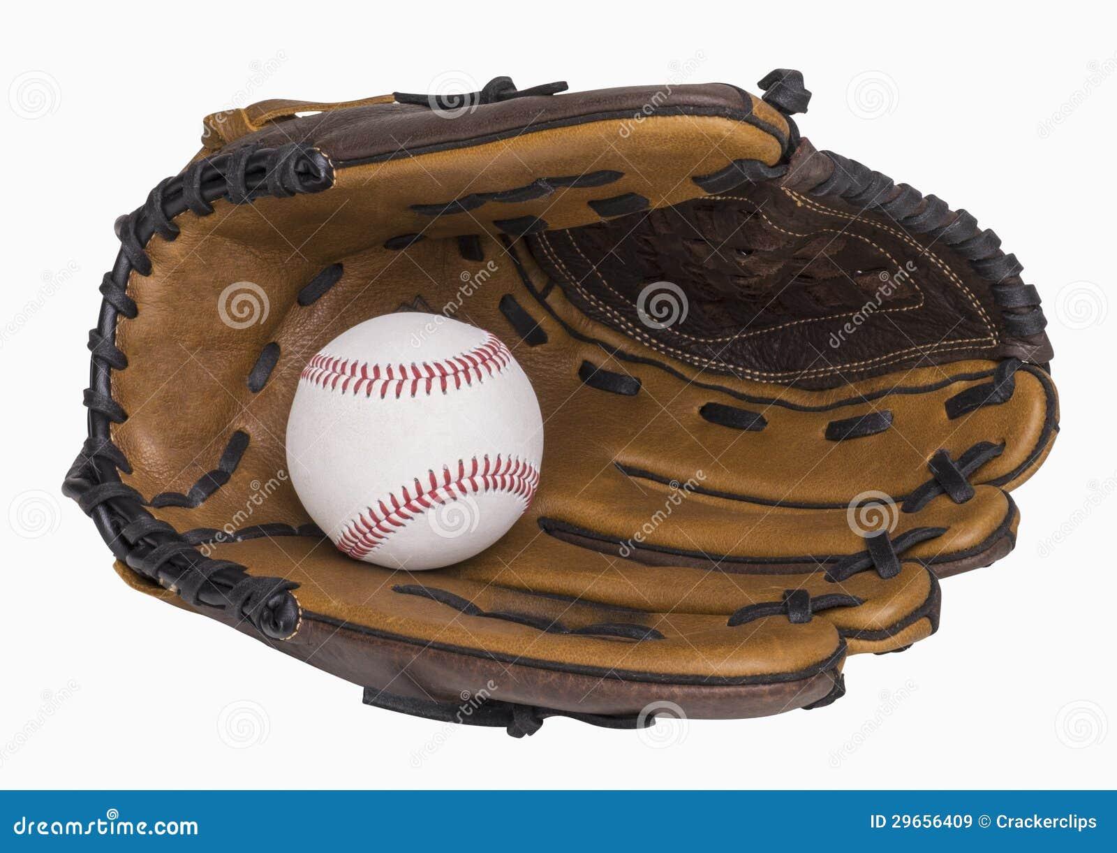 Baseball i rękawiczka