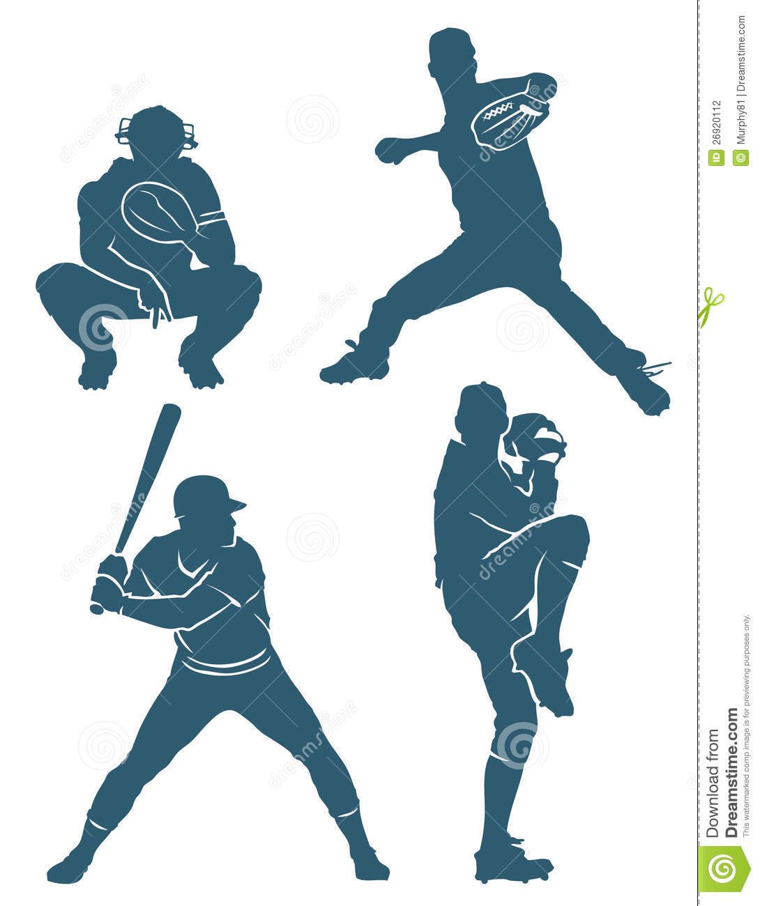 Baseball Positions Stock Photography - Image: 26920112