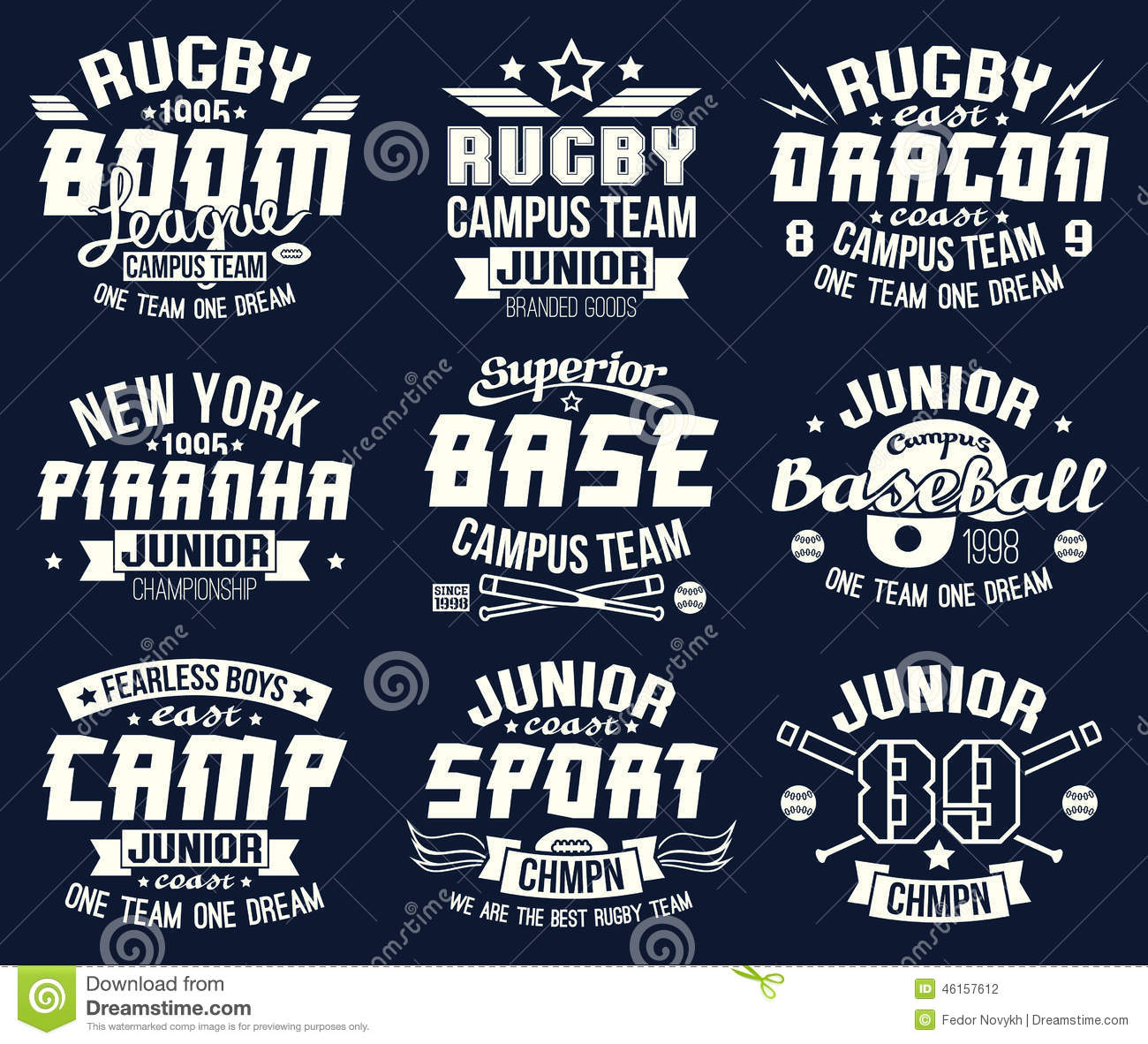 Design t shirts graphic - Baseball College Design Graphic Print Rugby Shirt