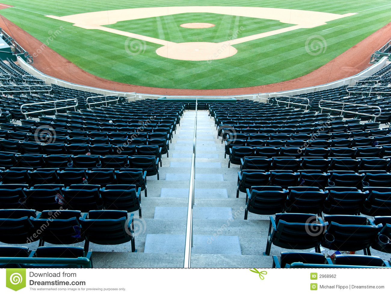 Baseball Stadium Stock Photography Image 2968962