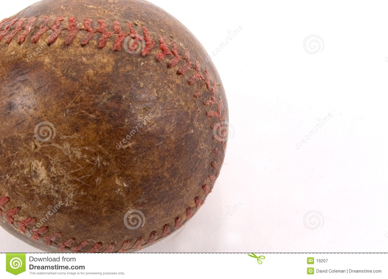 Baseball szczegół stary