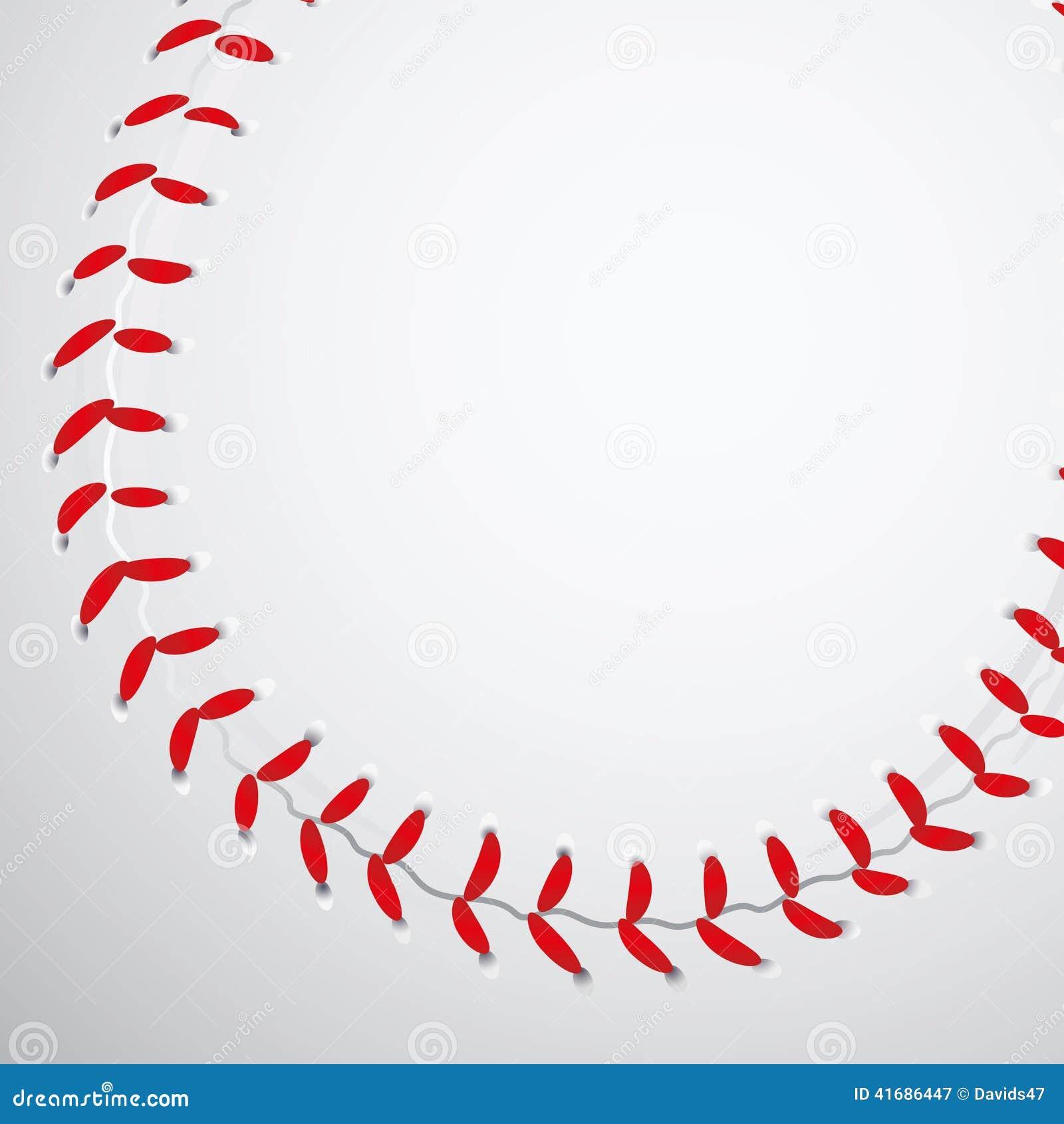 baseball texture stock vector image 41686447