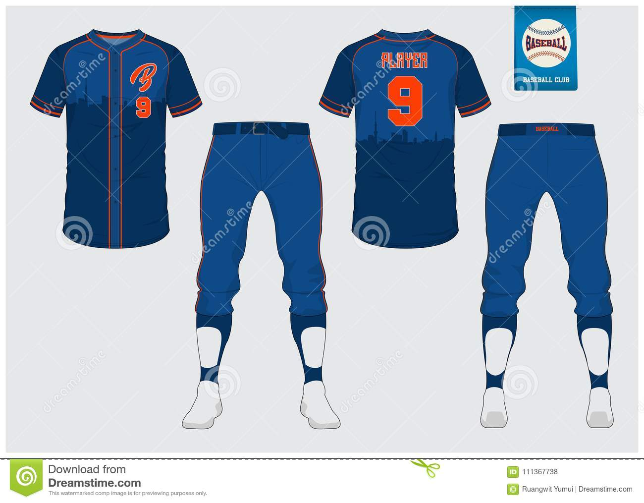 6d8c313d1 Baseball Uniform