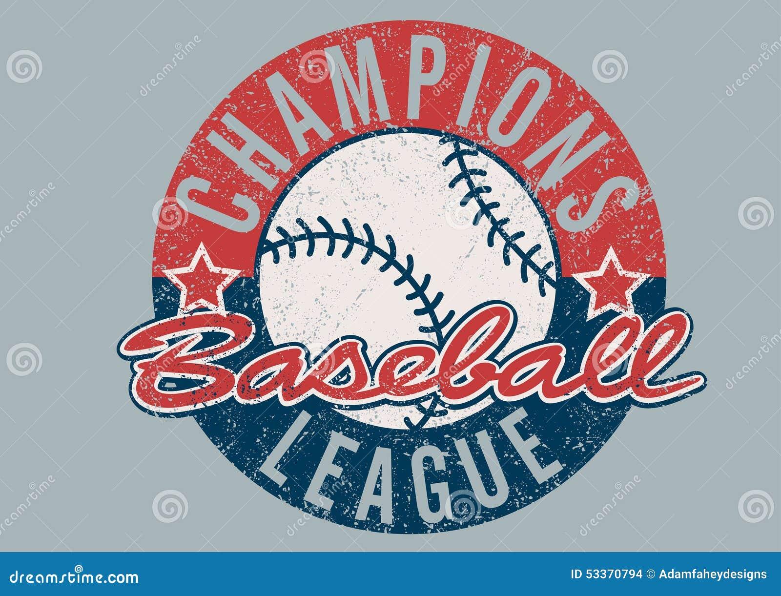 Baseball Wstawia się liga martwiącego druk
