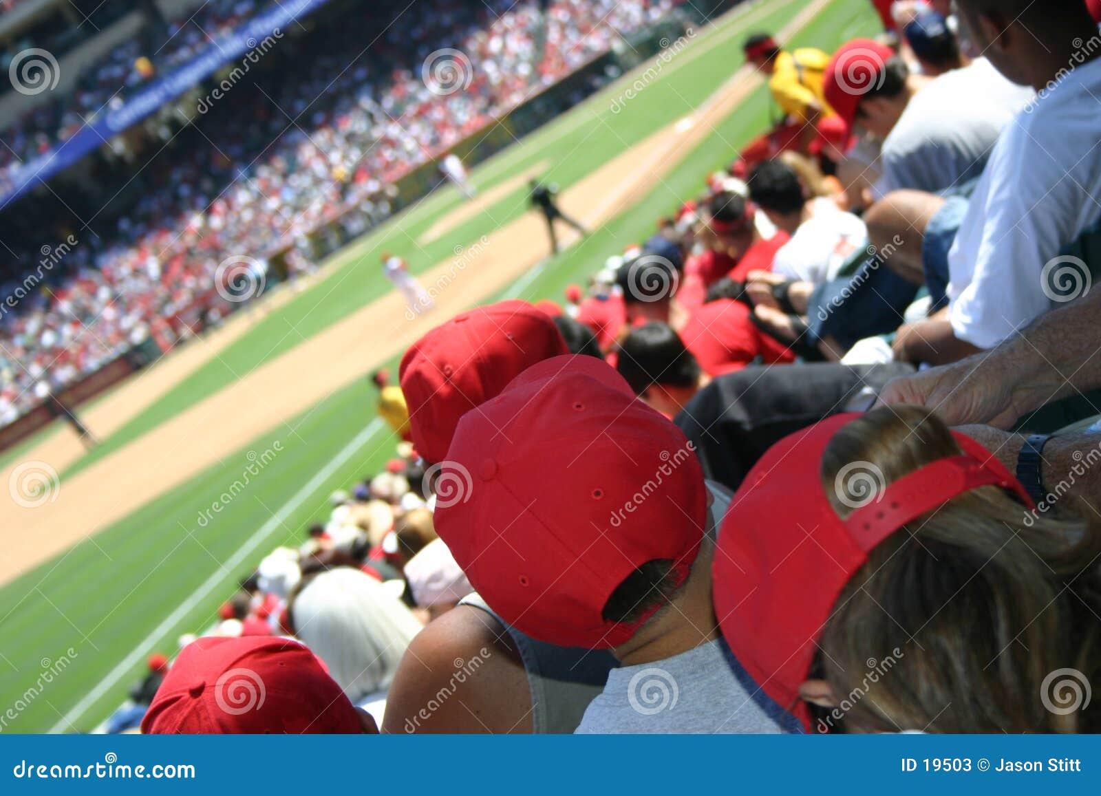 Baseballfolkmassa
