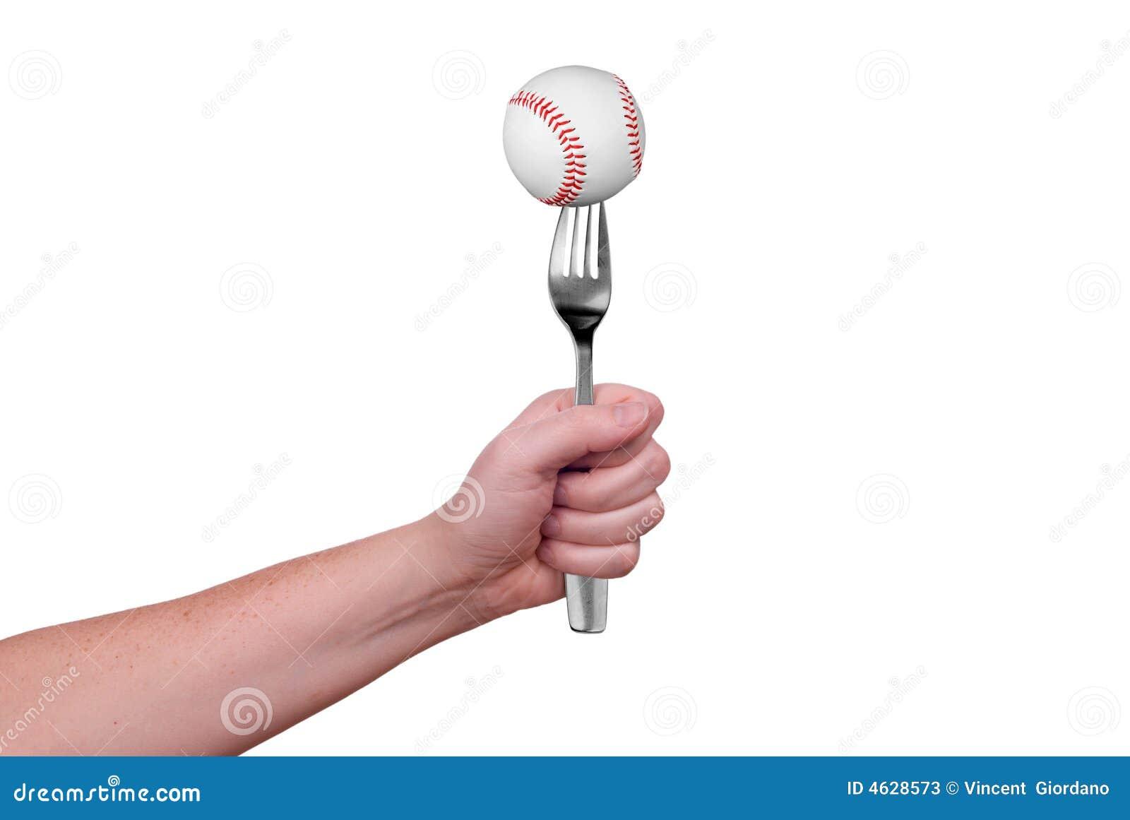 Basebol na forquilha