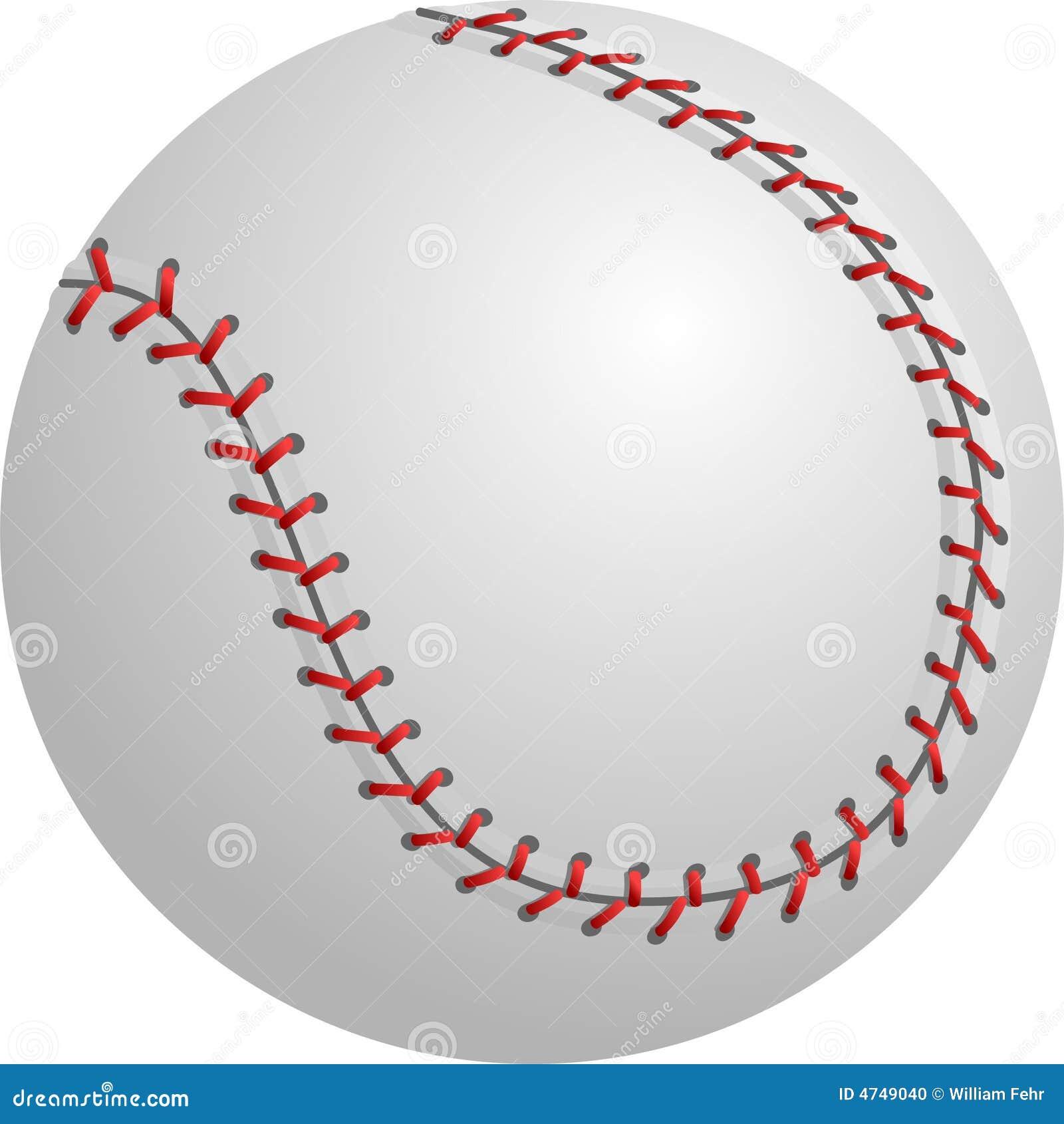 Basebol ou softball isolado