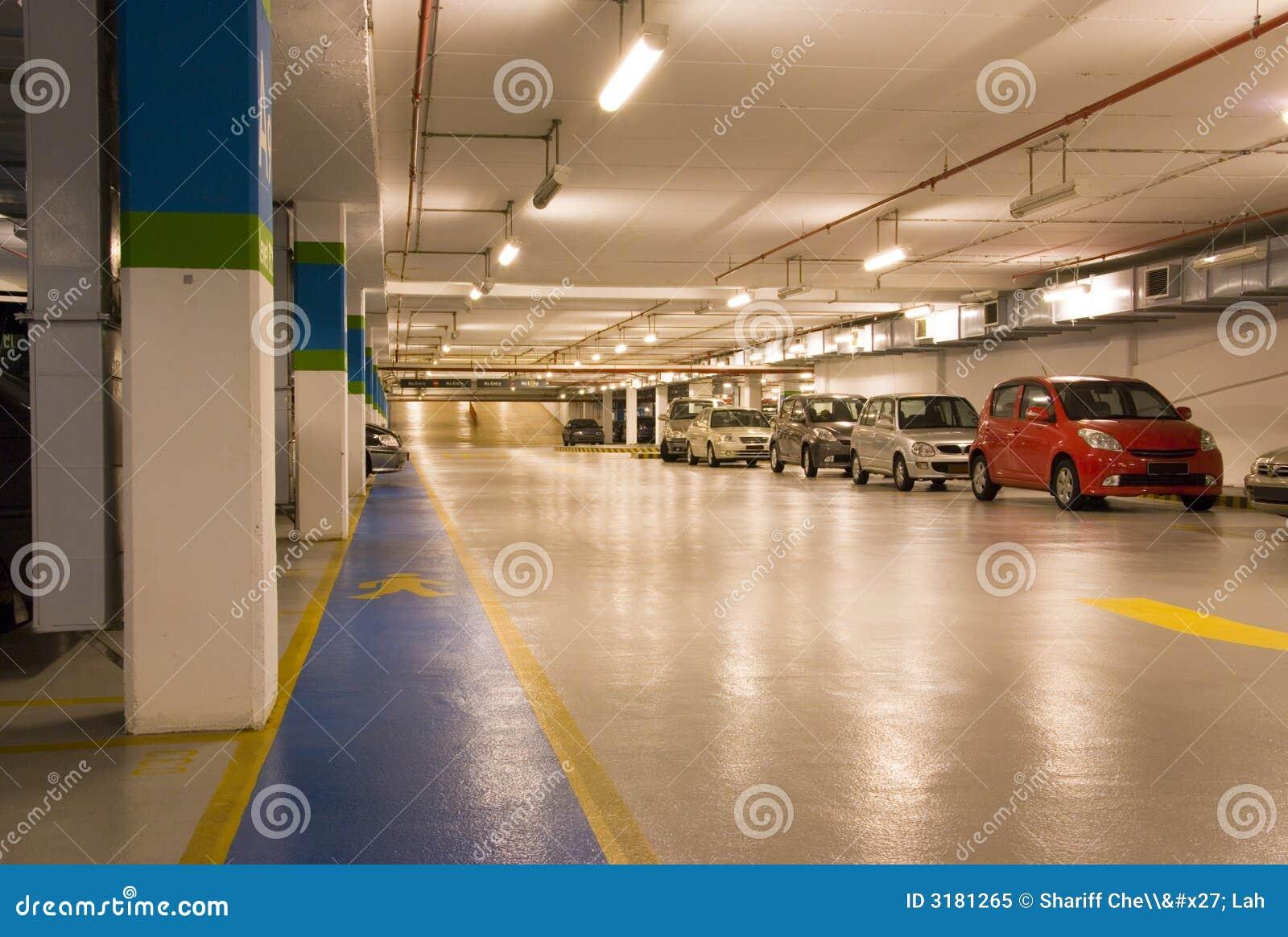 Basement Car Park Stock Image Image Of Carpark