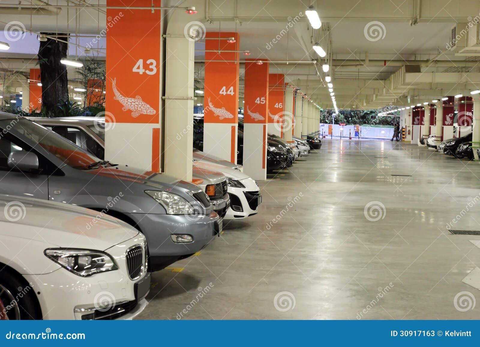 Design of basement car parking - Basement Car Park Lots