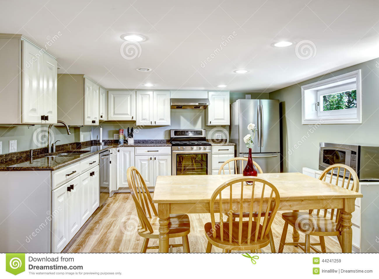 Basement Kitchen Basement Kitchen Room Mother In Law Apartment Stock Photo Image
