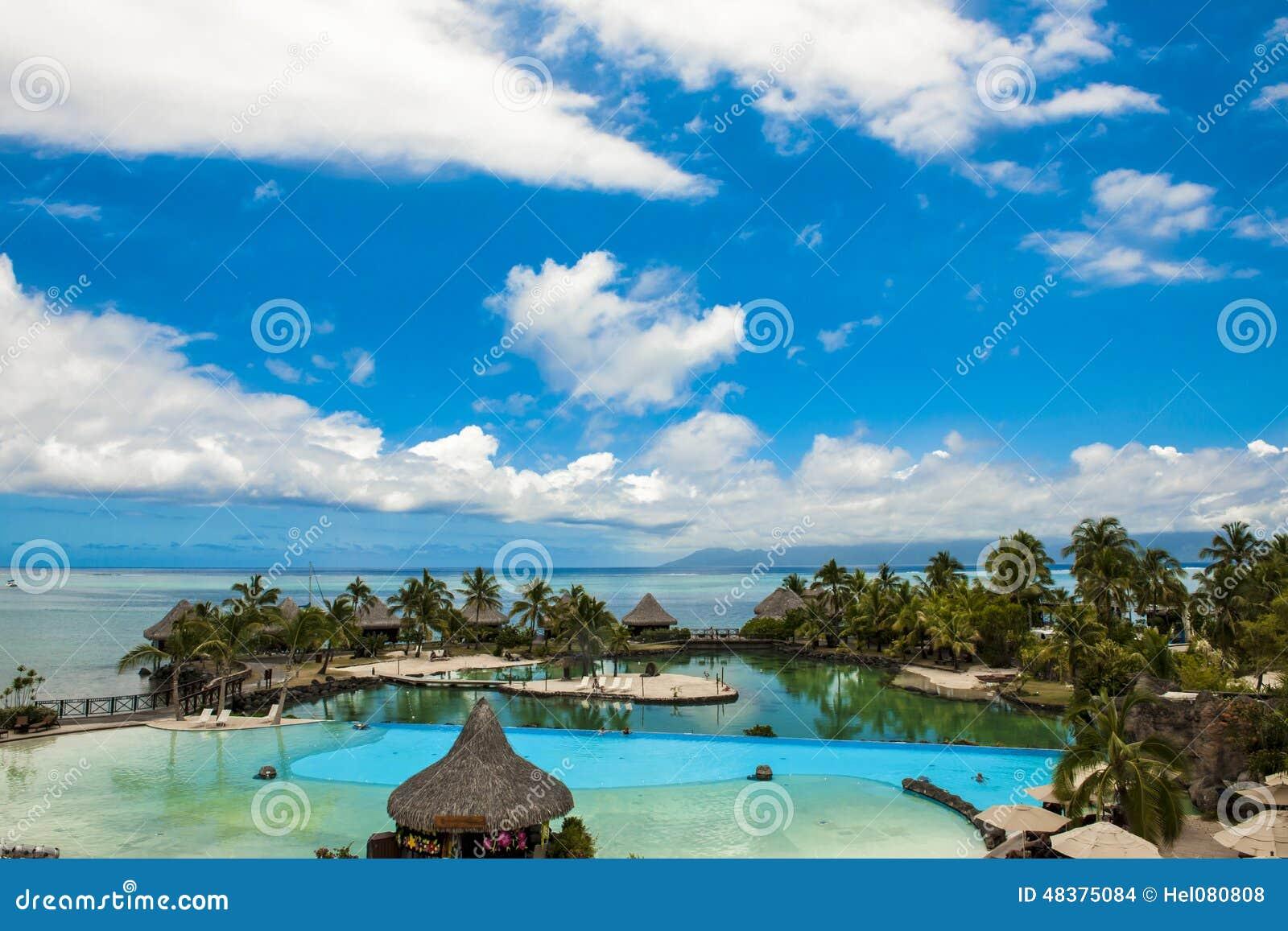 Baseny Hotelowy Międzykontynentalny Papeete