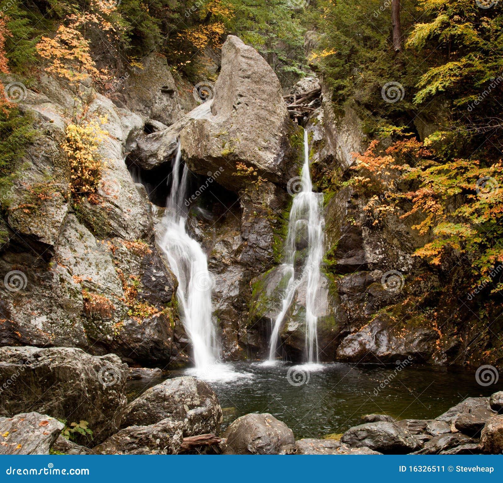 Bash Bish falls in Berkshires