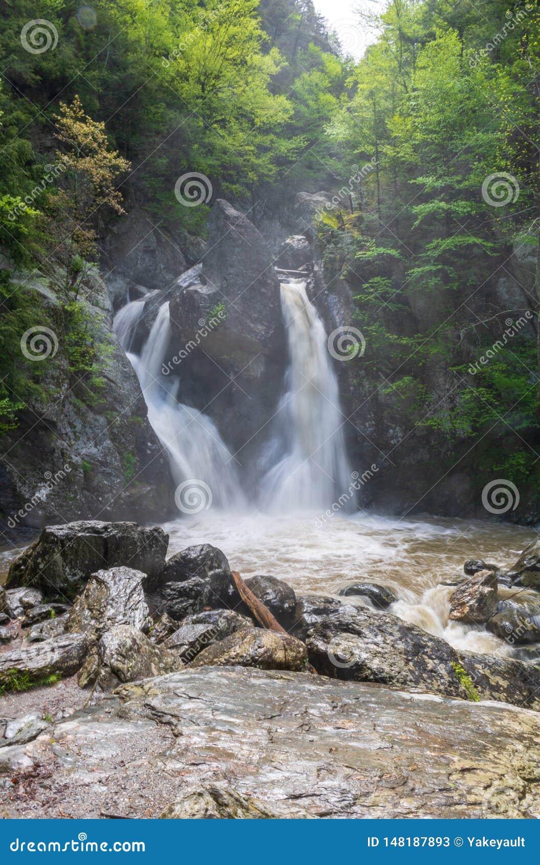 Vertical image of Bish Bash Falls