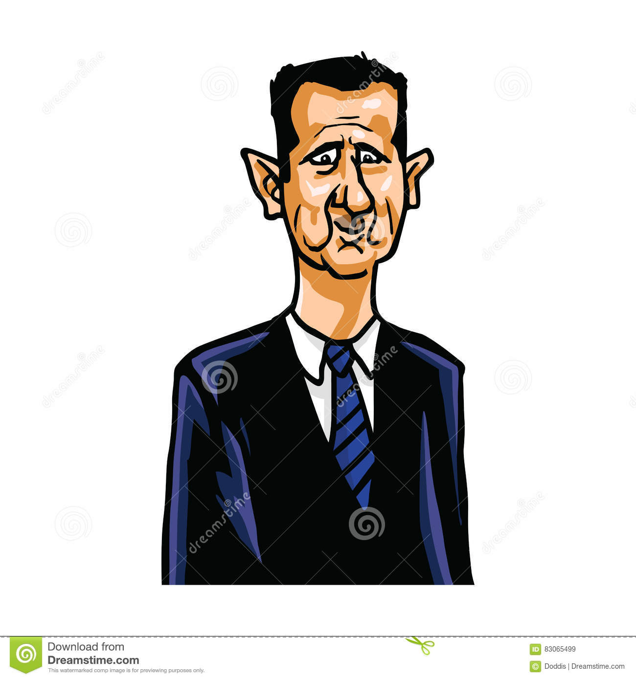 Image result for Assad CARTOON