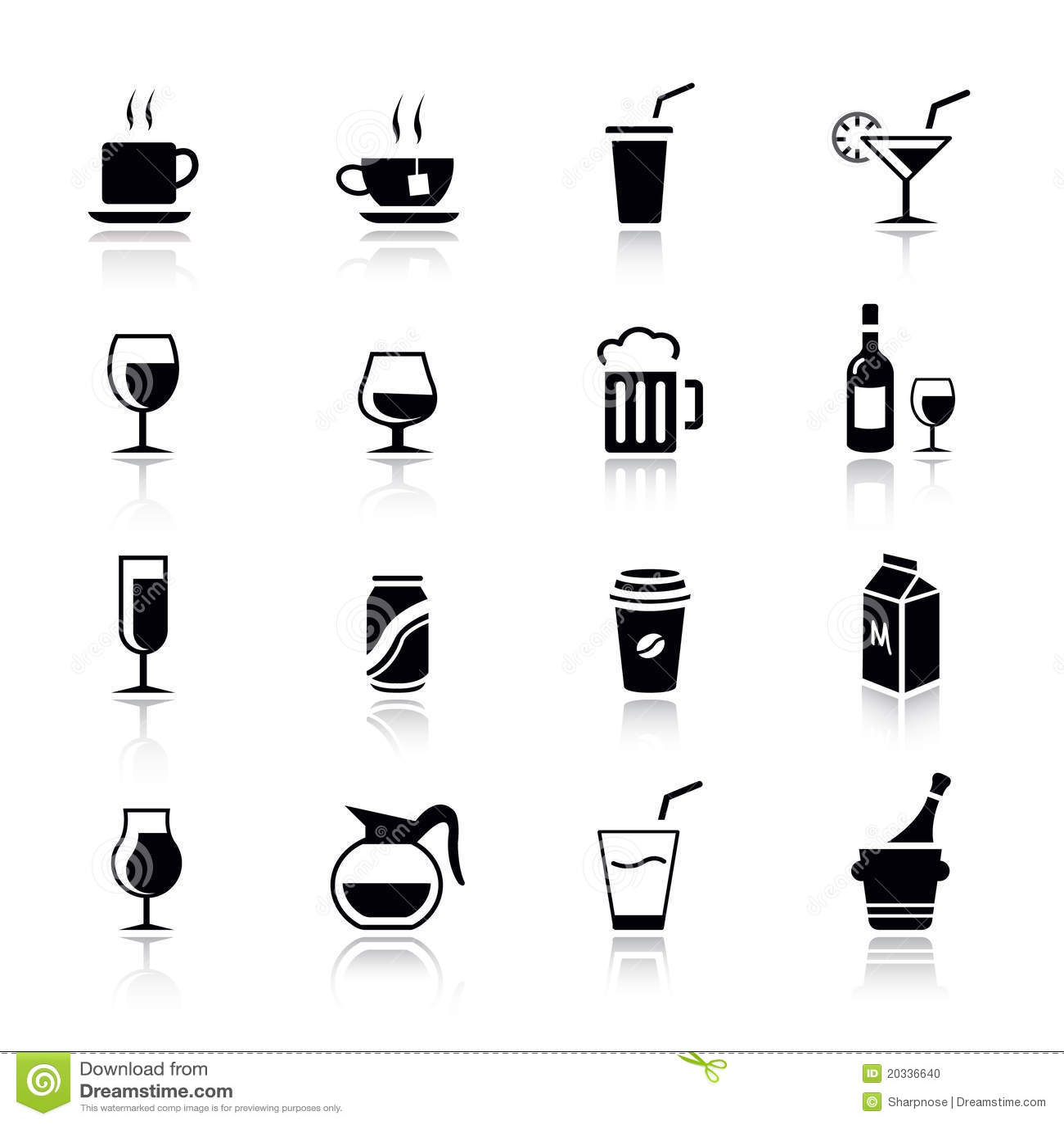 Basic - Drink Icons