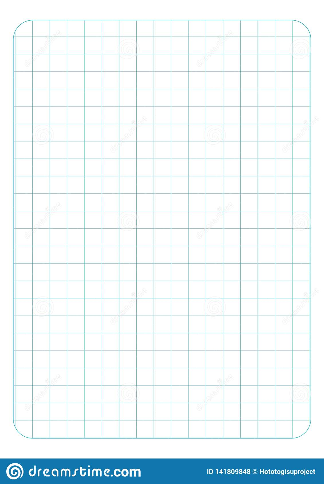Square grid background. Vector illustration with love