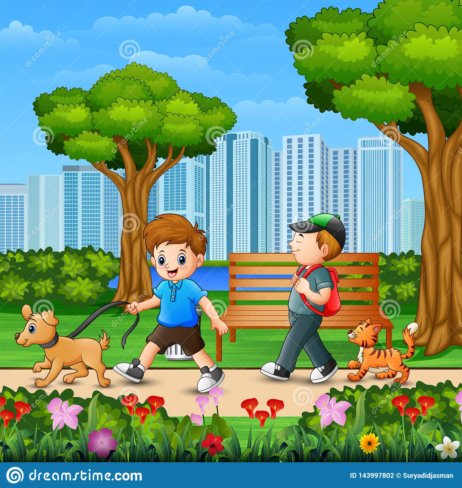 Guys Two Walking Stock Illustrations – 45 Guys Two Walking Stock  Illustrations, Vectors & Clipart - Dreamstime