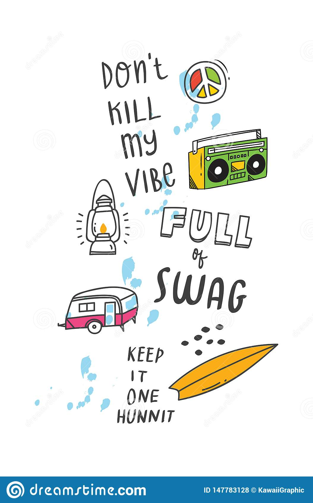 t shirt design quotes and patches stock vector illustration