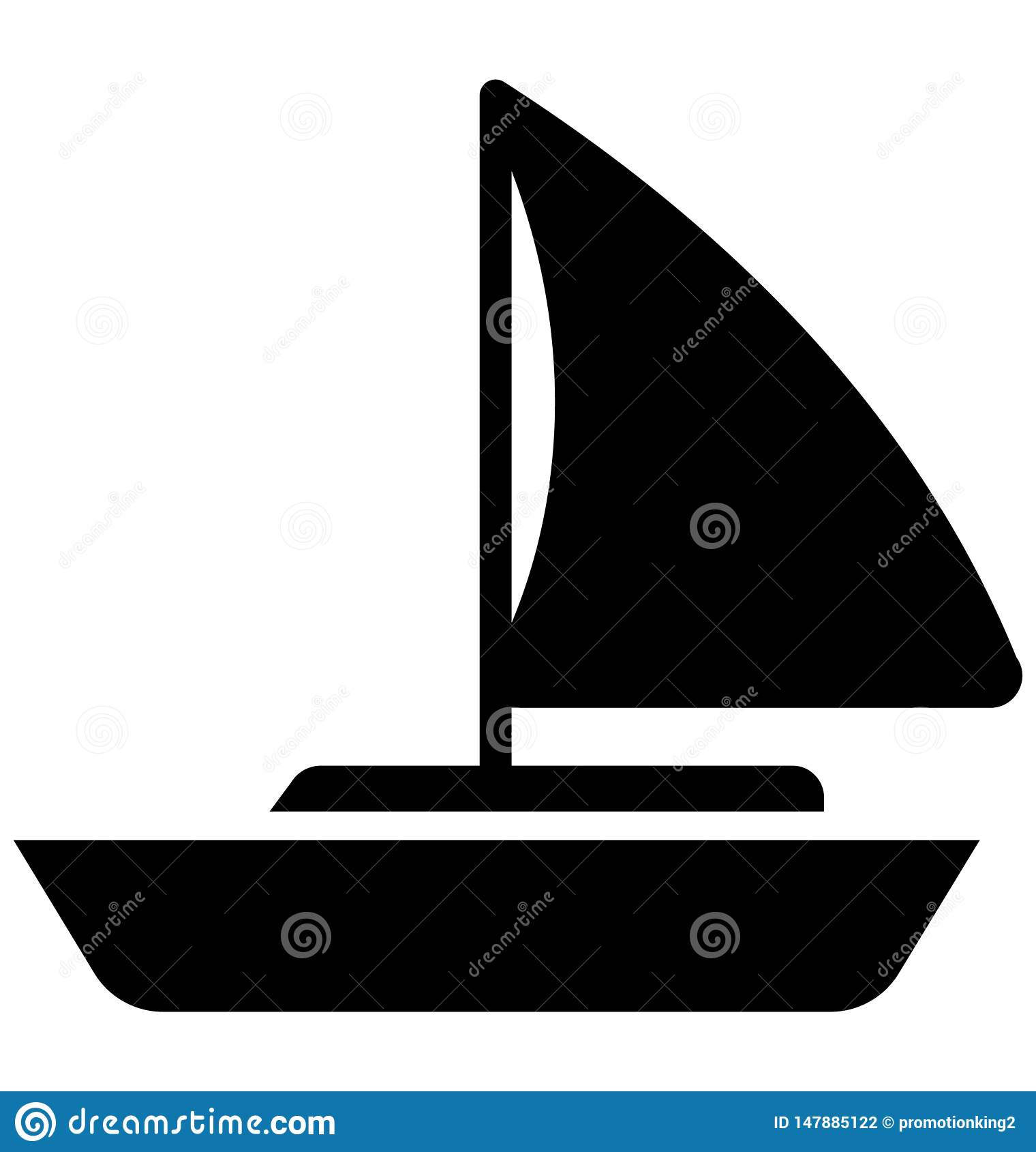Ship Isolated Vector Icon which can easily modify or edit