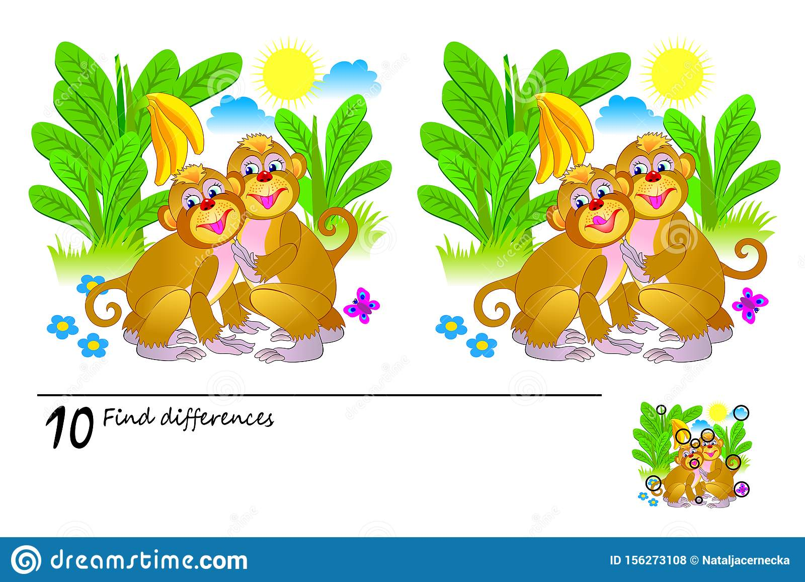 This is a picture of Find the Difference Printable with princess