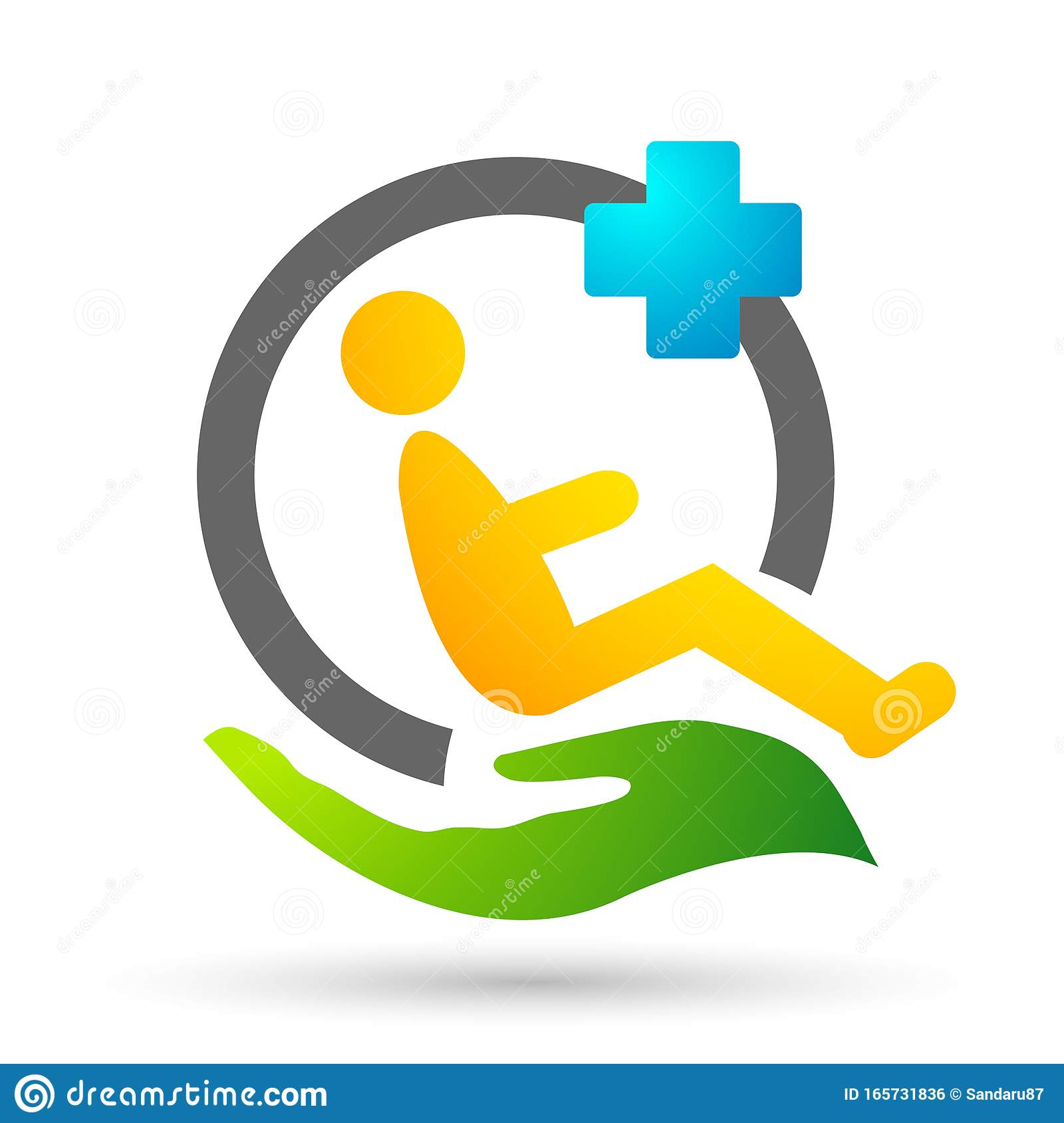 Globe World Disabled Care Logo Medical Health Clinic Home ...