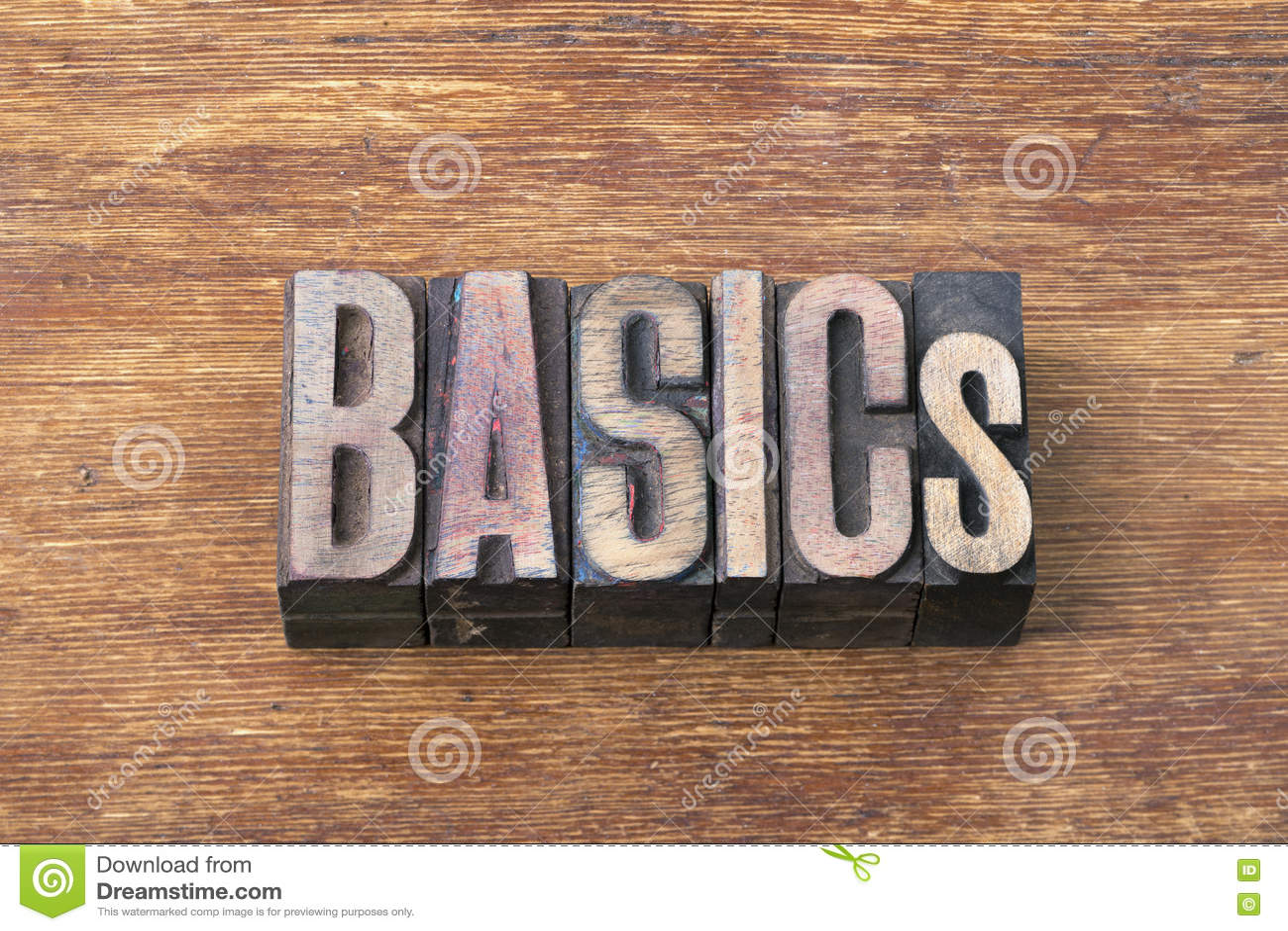 Basics word wood