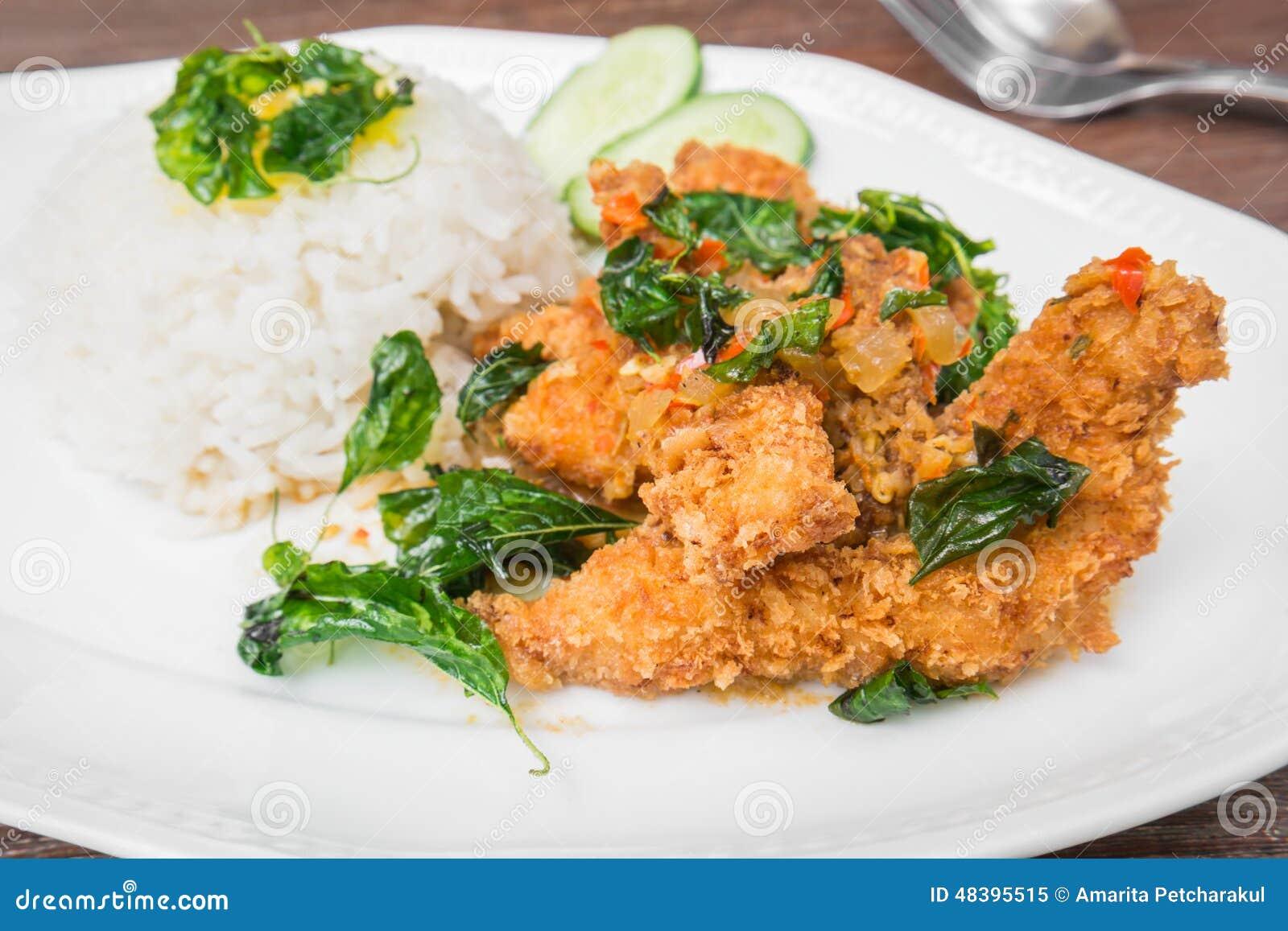 Crispy Chicken Thai Food