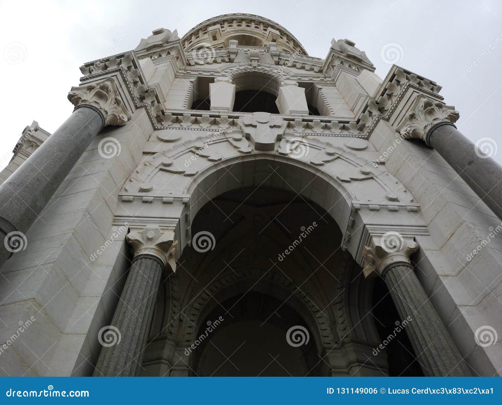 Basilic Notre-Dame DE Fourvière, Lyon, Frankrijk