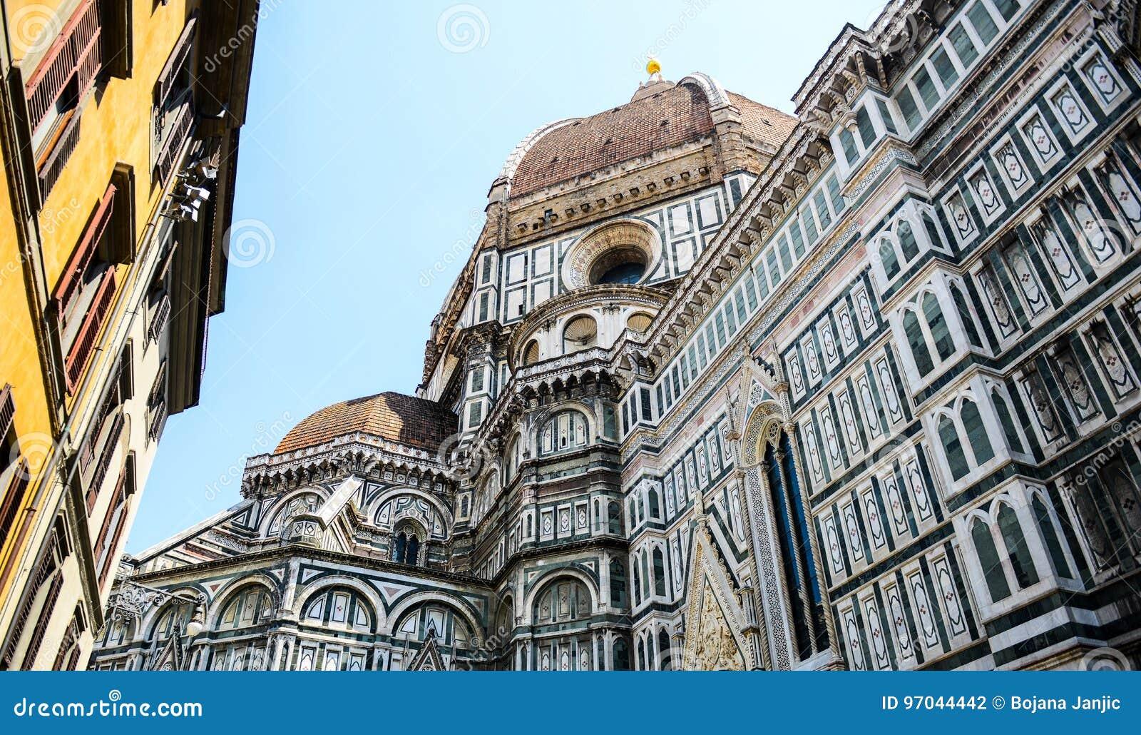Basilica del fiore佛罗伦萨玛丽亚・圣诞老人