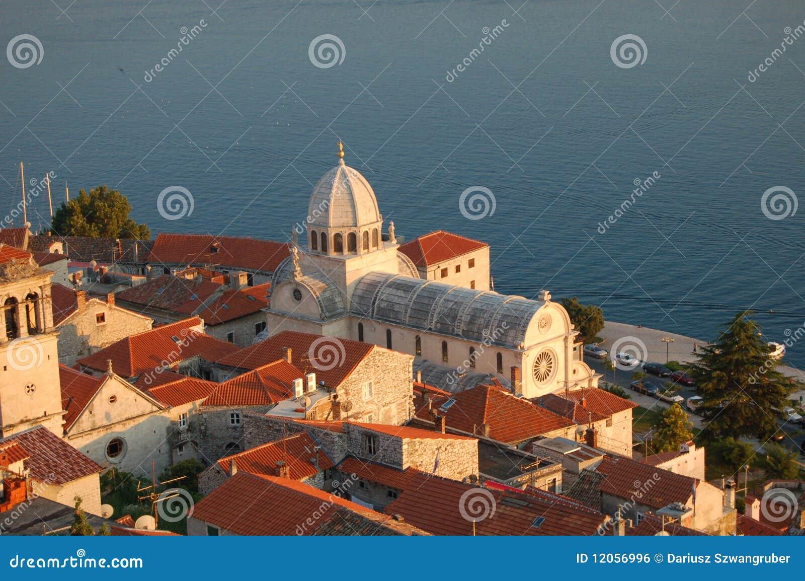 Basilica della st James in Sibenik