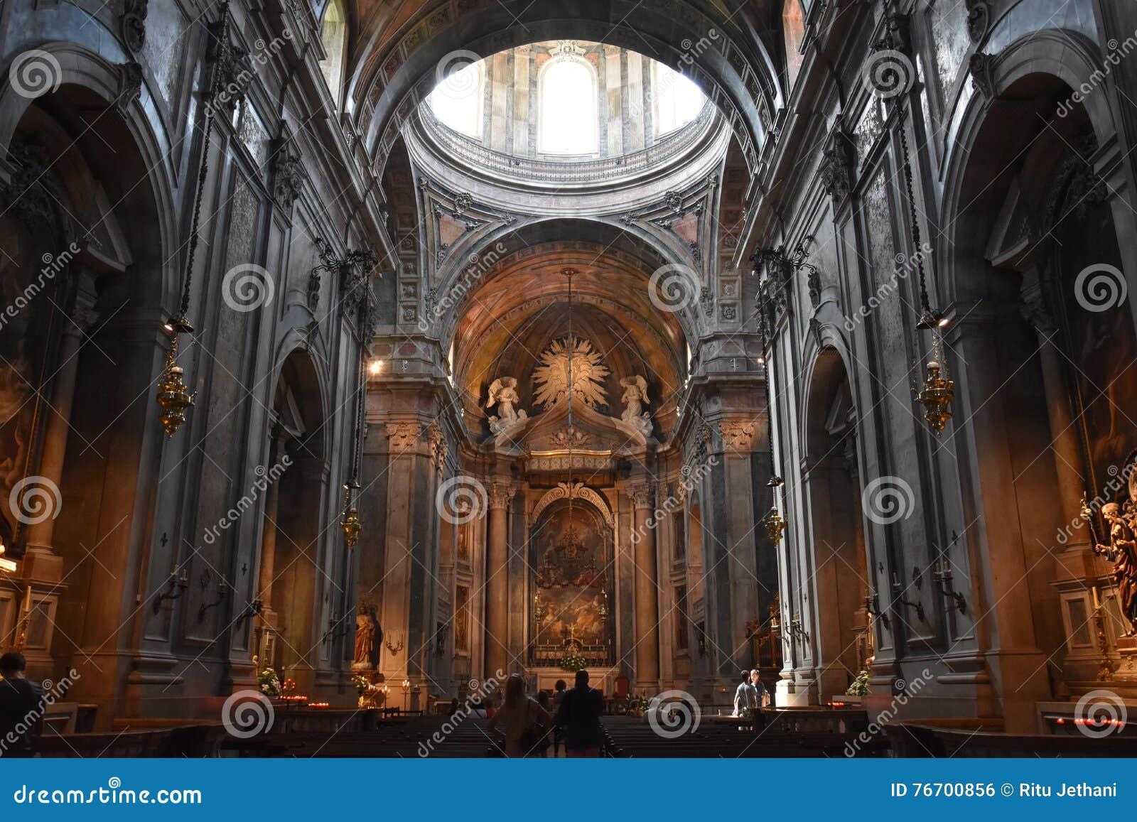 Basilica di Estrela a Lisbona, Portogallo