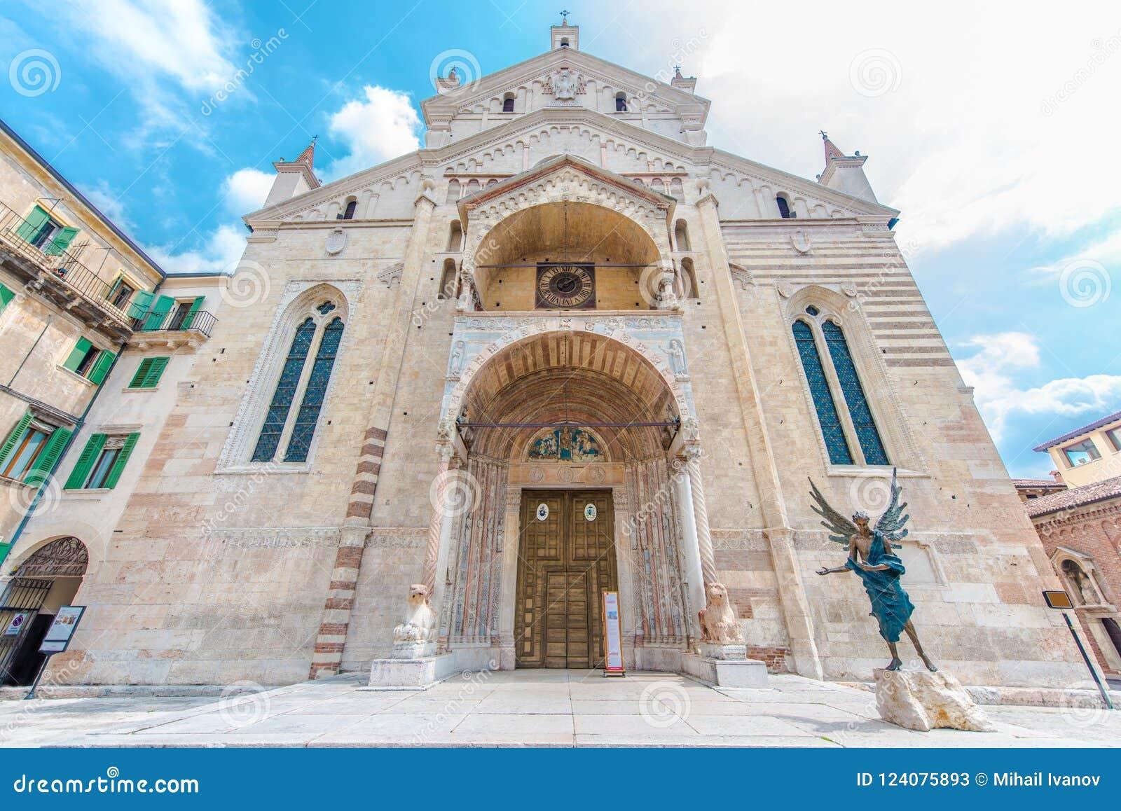 Basilica di San Zeno, Verona, Italia