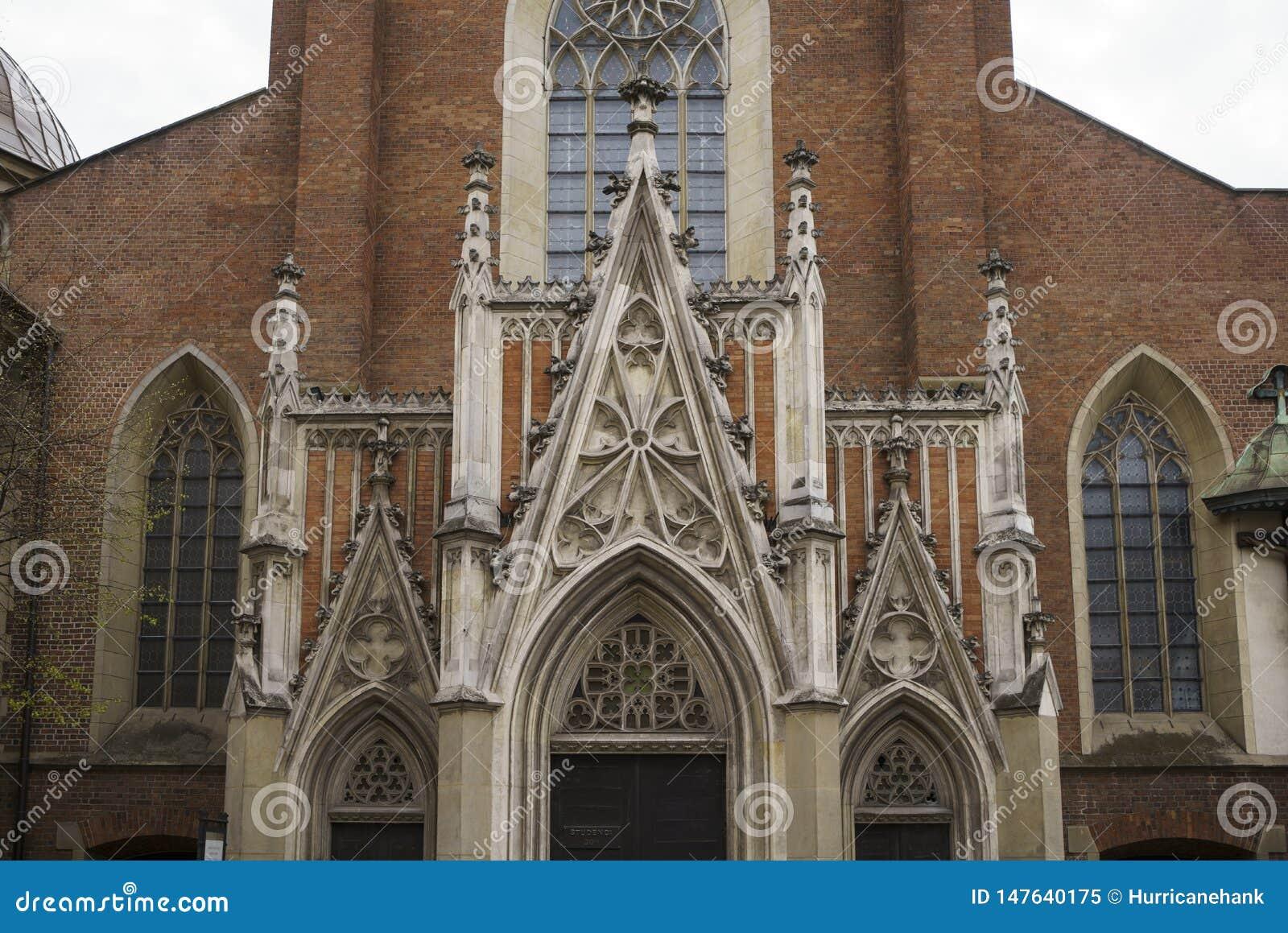 Basilica di trinit? santa e del monastero domenicano a Cracovia