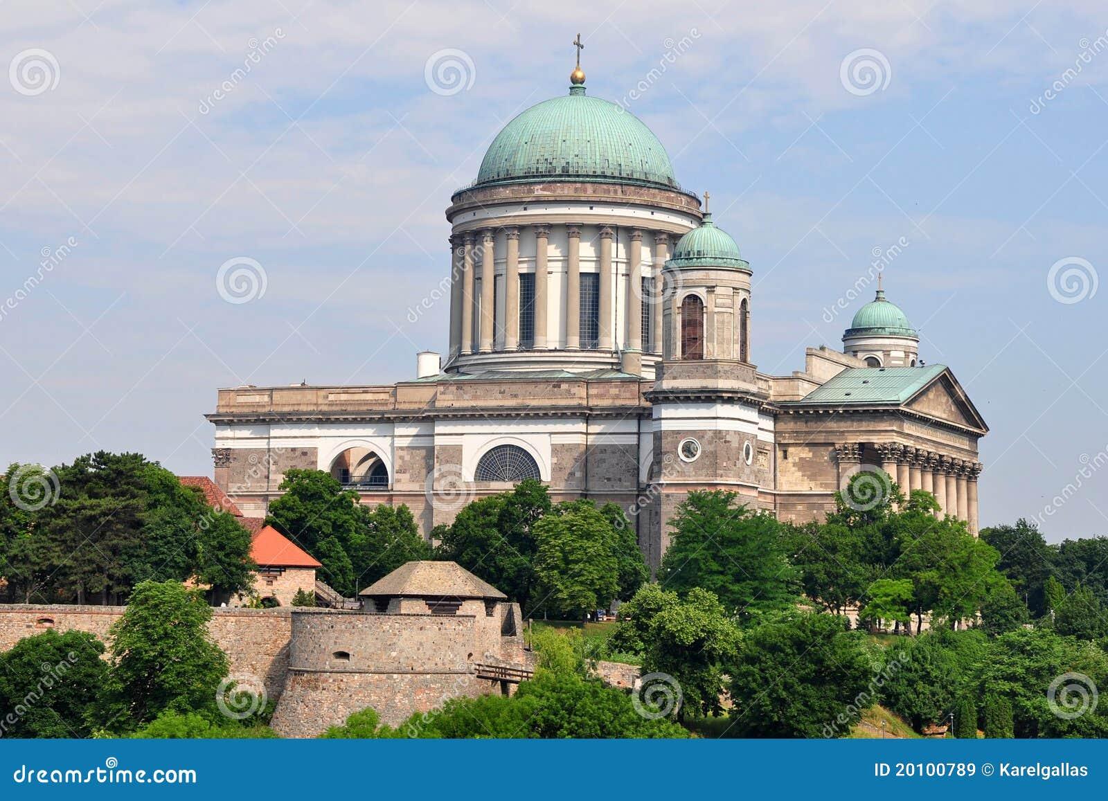 Esztergom Hungary  city images : Basilica Esztergom ,Hungary Royalty Free Stock Images Image ...
