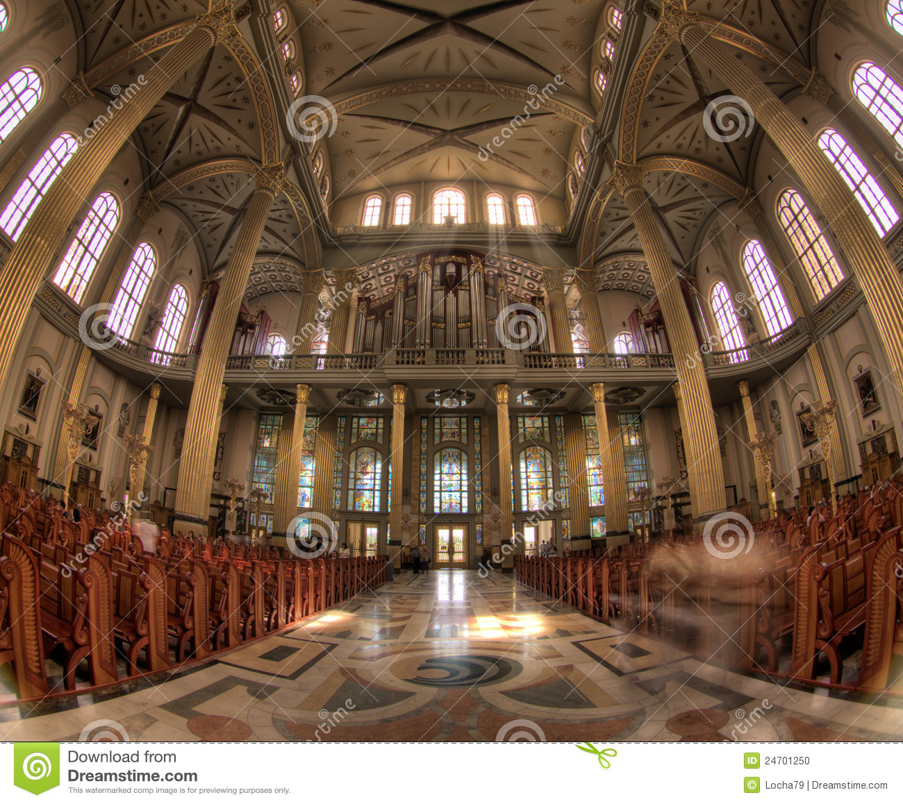 The Basilica Of Our Lady Of Lichen Editorial Image Image