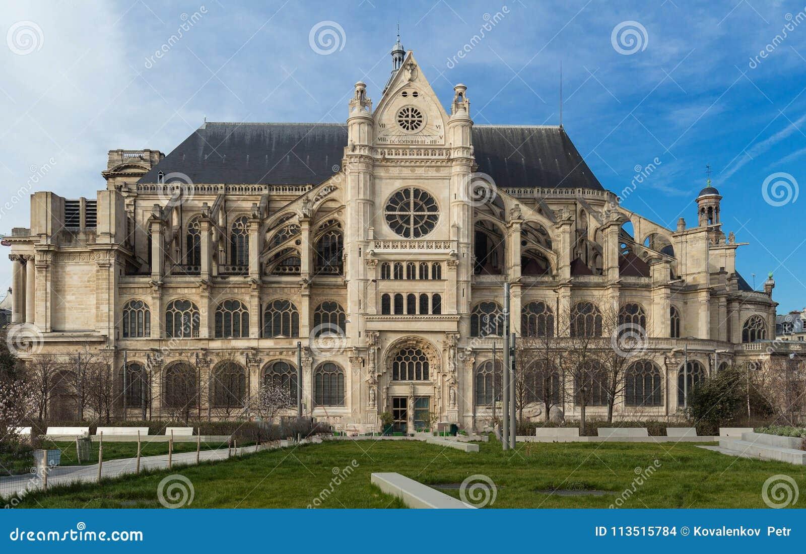 Basilica of Saint Clotilde , Paris, France.