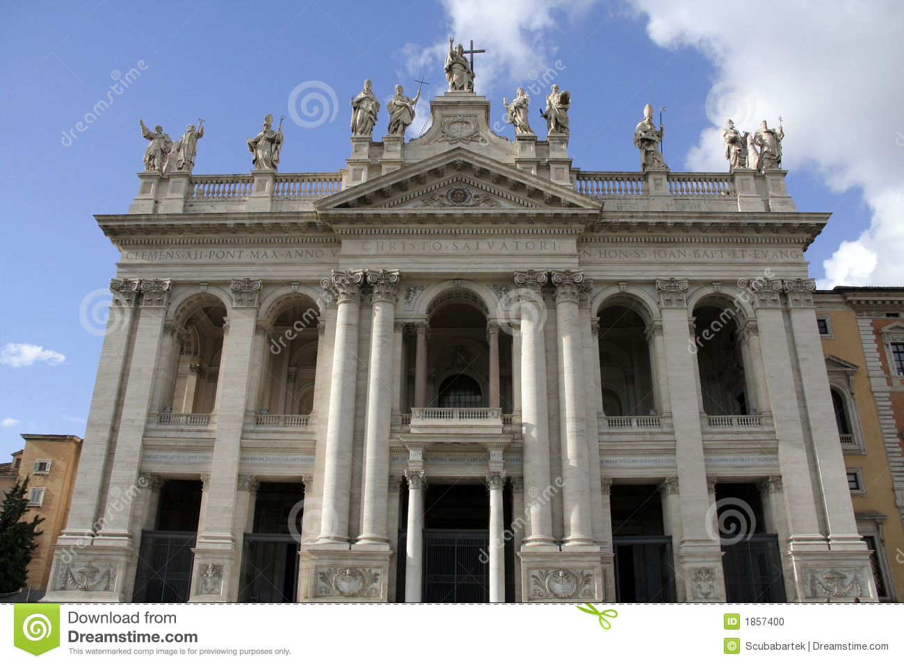 Basilica Of St. John Lateran Stock Photo - Image: 1857400
