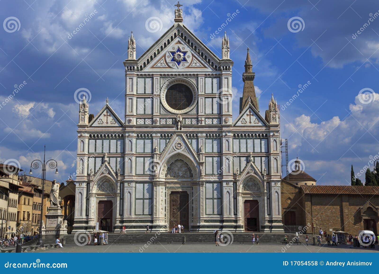 Basilicacroce florence italy santa