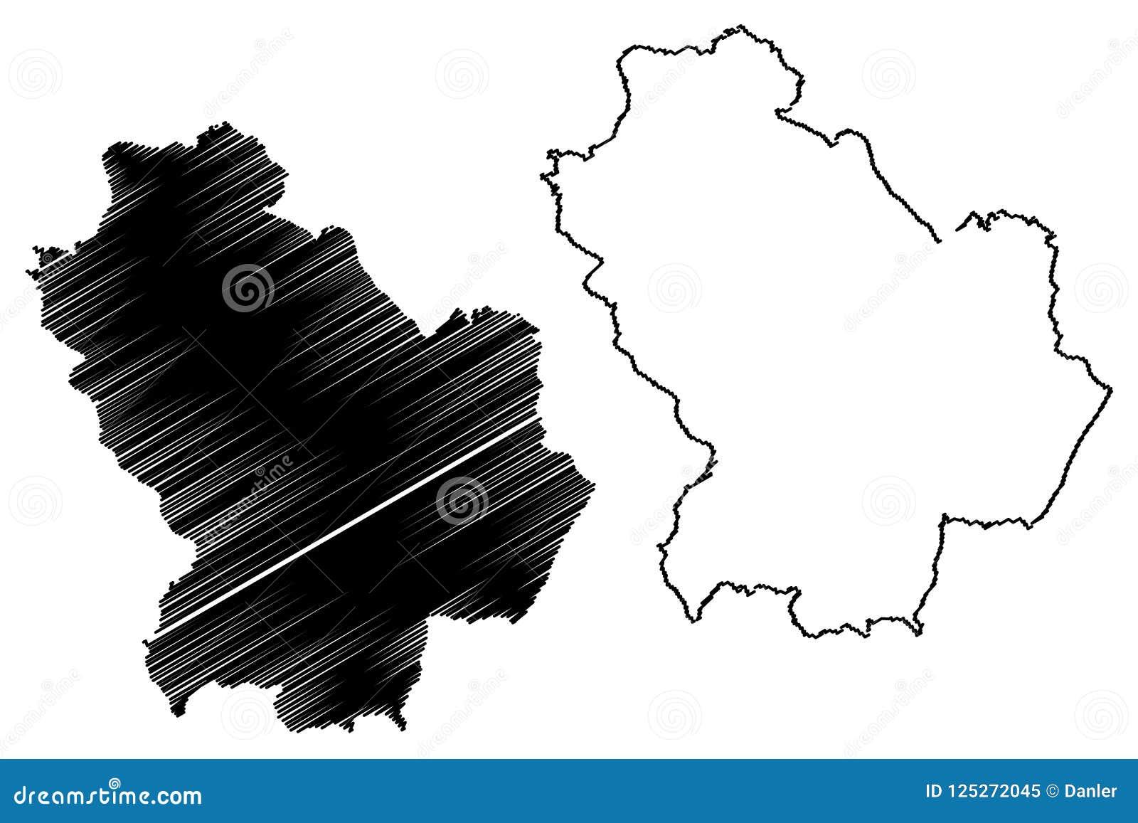 Basilicata Map Vector Stock Vector Illustration Of Illustration