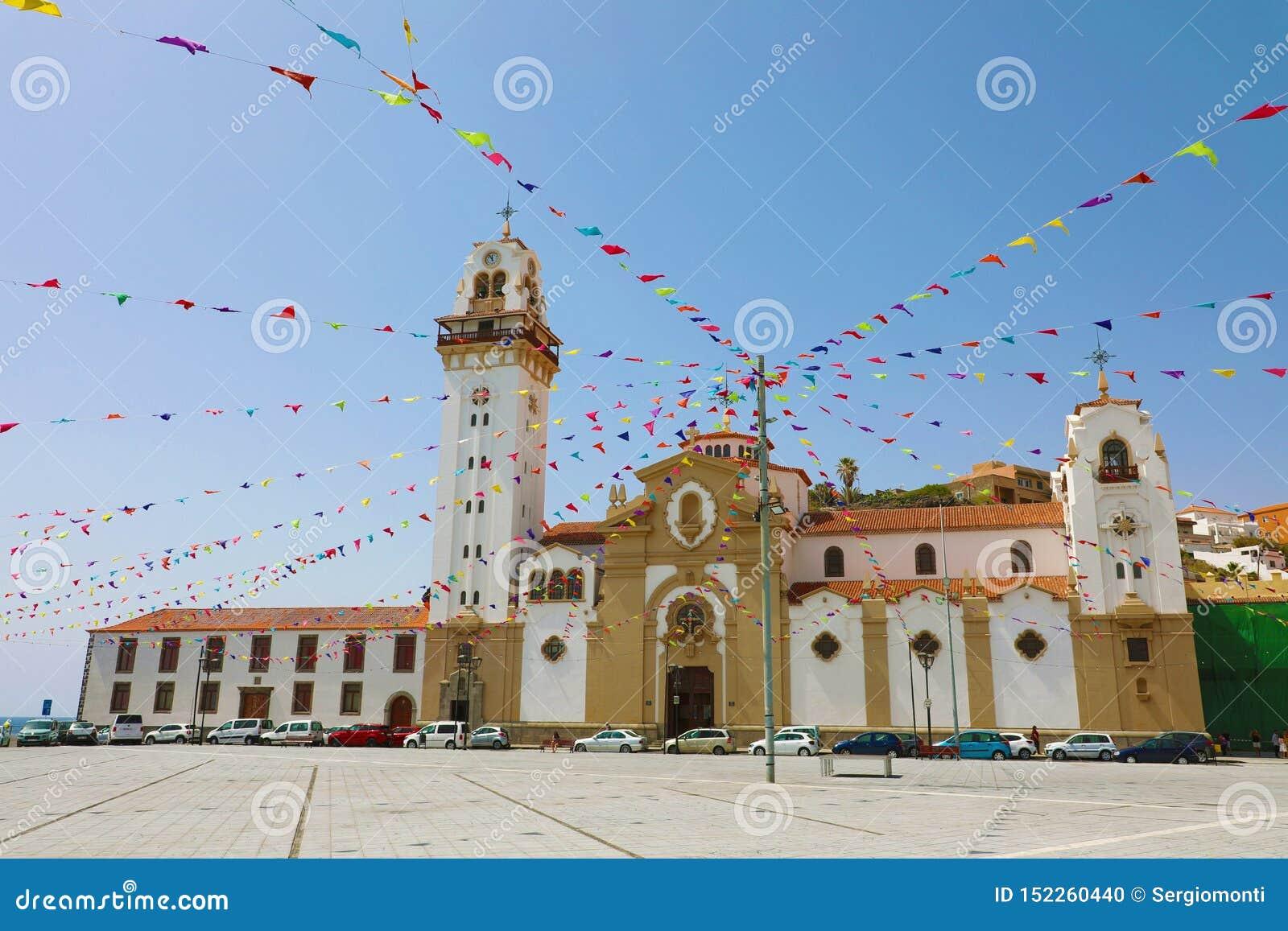 Basiliek van Candelaria, Santa Cruz de Tenerife, Canarische Eilanden, Spanje