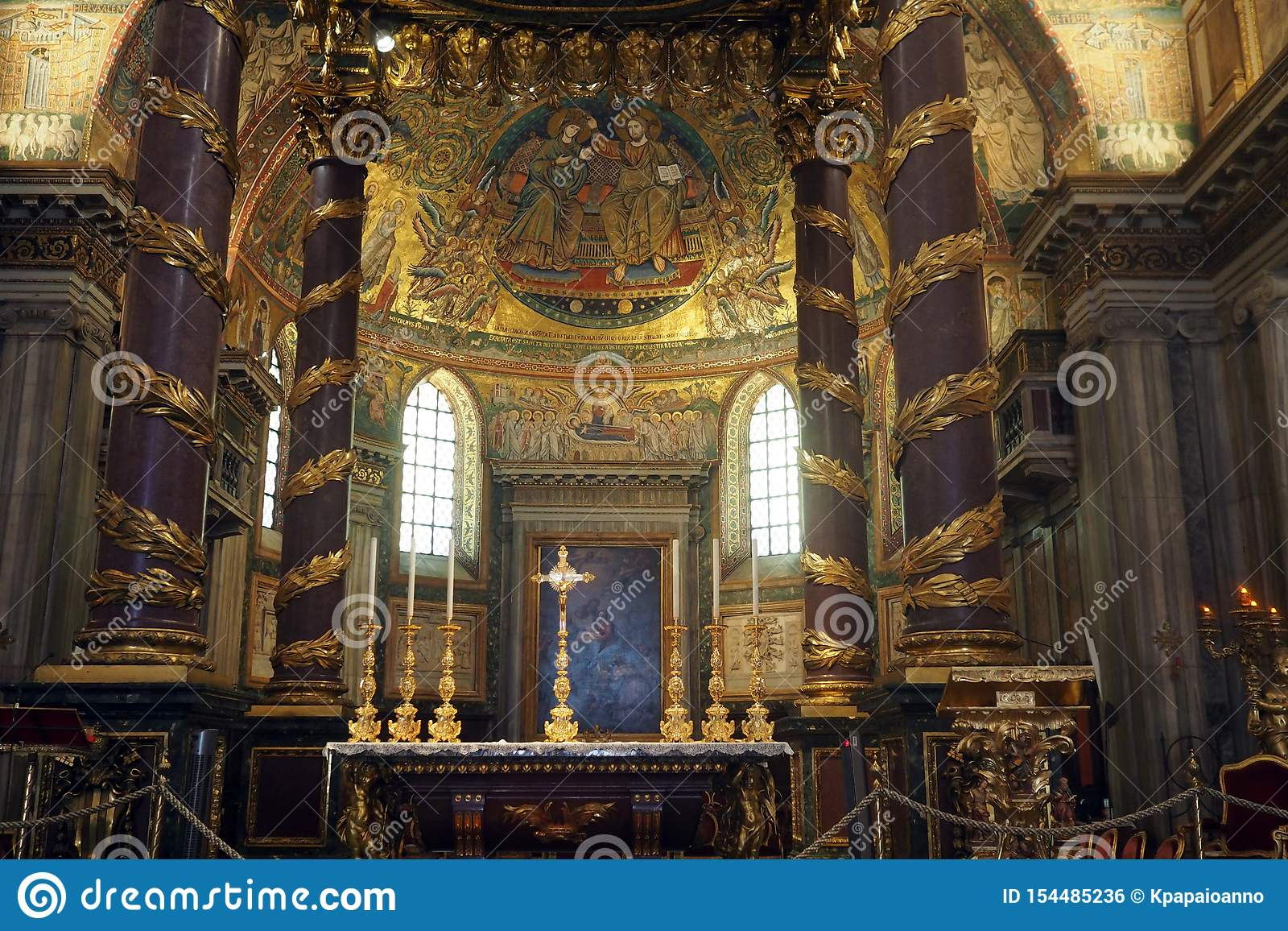 Basiliek van Heilige Mary Major in Rome, Itali?