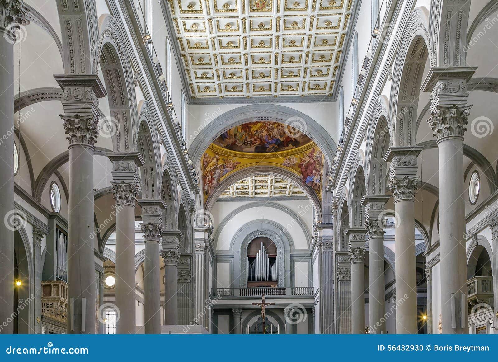 Basiliek van San Lorenzo, Florence, Italië