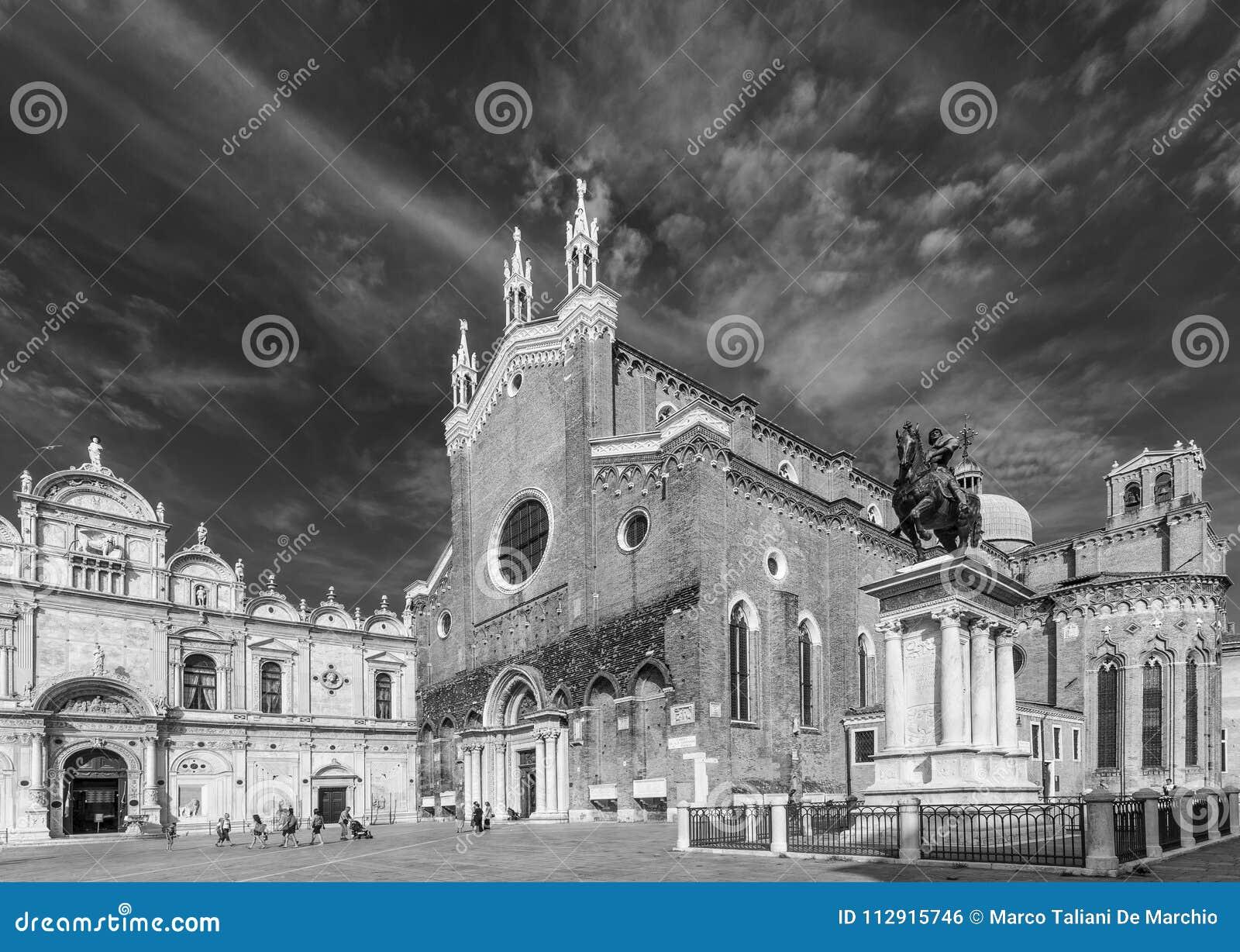 Basiliekdei Santi Giovanni e Paolo, Zanipolo, Venetië, Italië