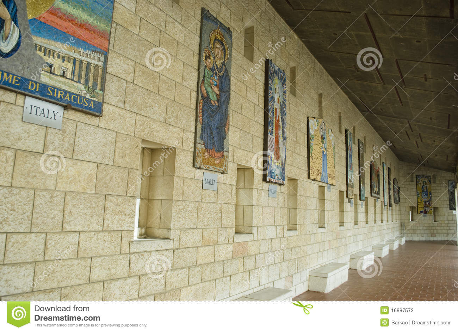 Basilika der Anzeige in Nazareth