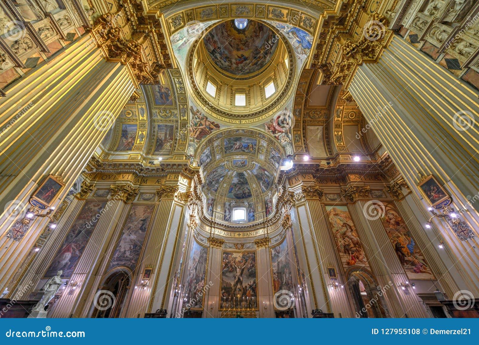 Basilika di Sant Andrea della Valle - Rome, Italien