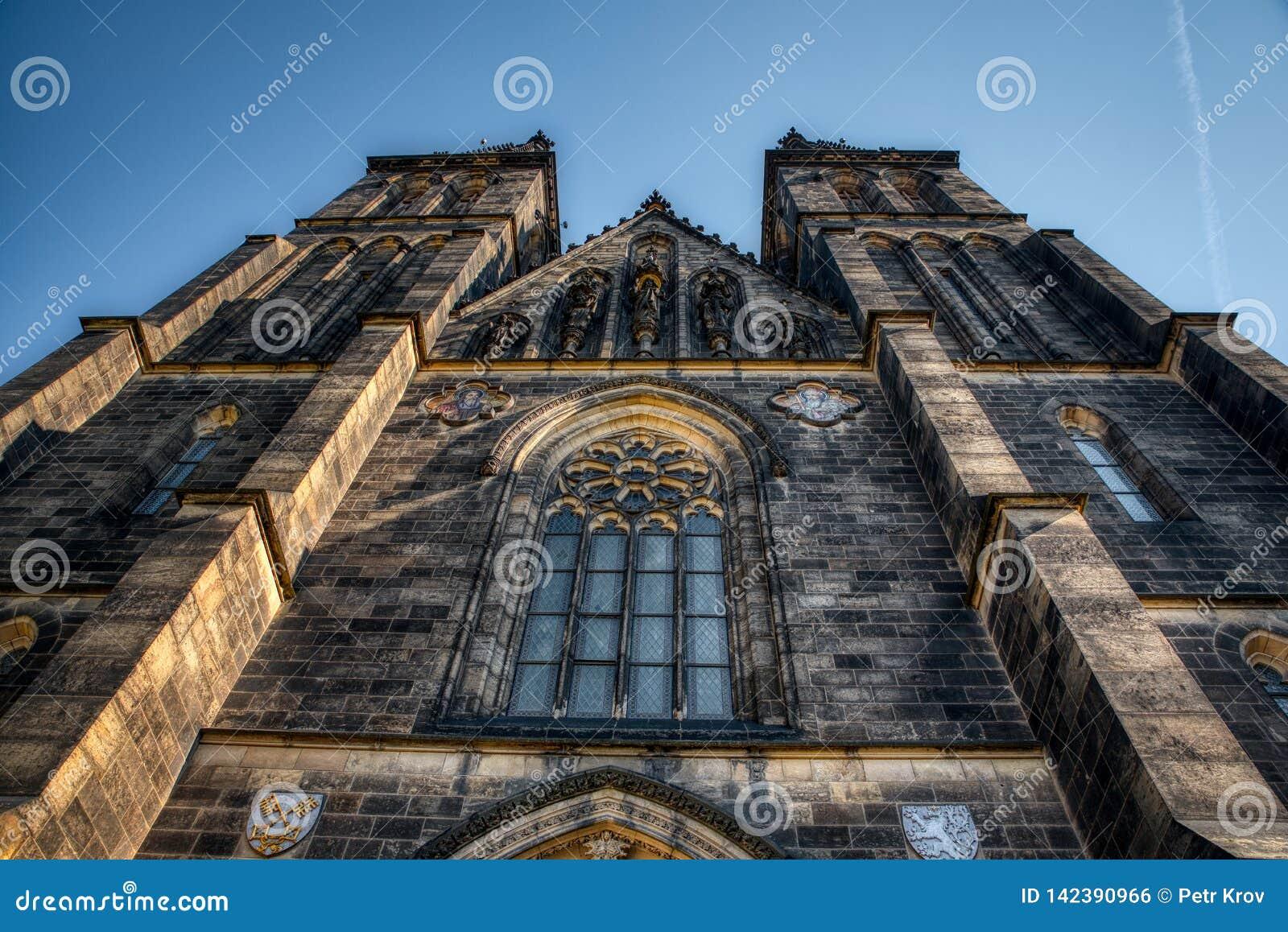 Basilika Prags Vysehrad von St Peter und von Paul