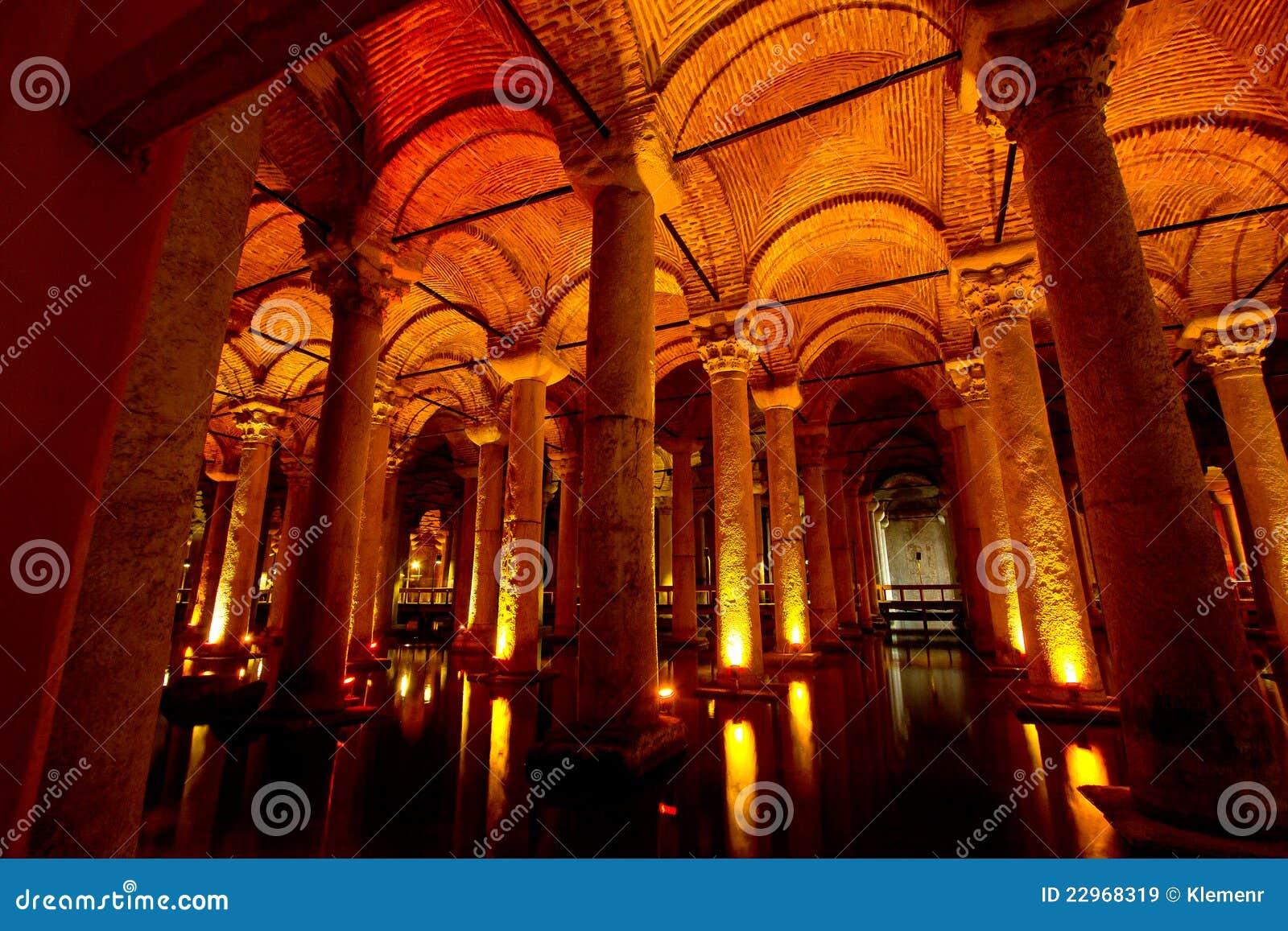 Basilika-Zisterne Istanbul, die Türkei