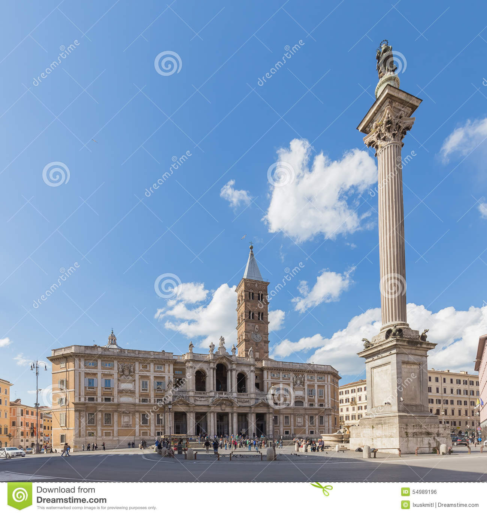 Basilikadi Santa Maria Maggiore i Rome, Italien