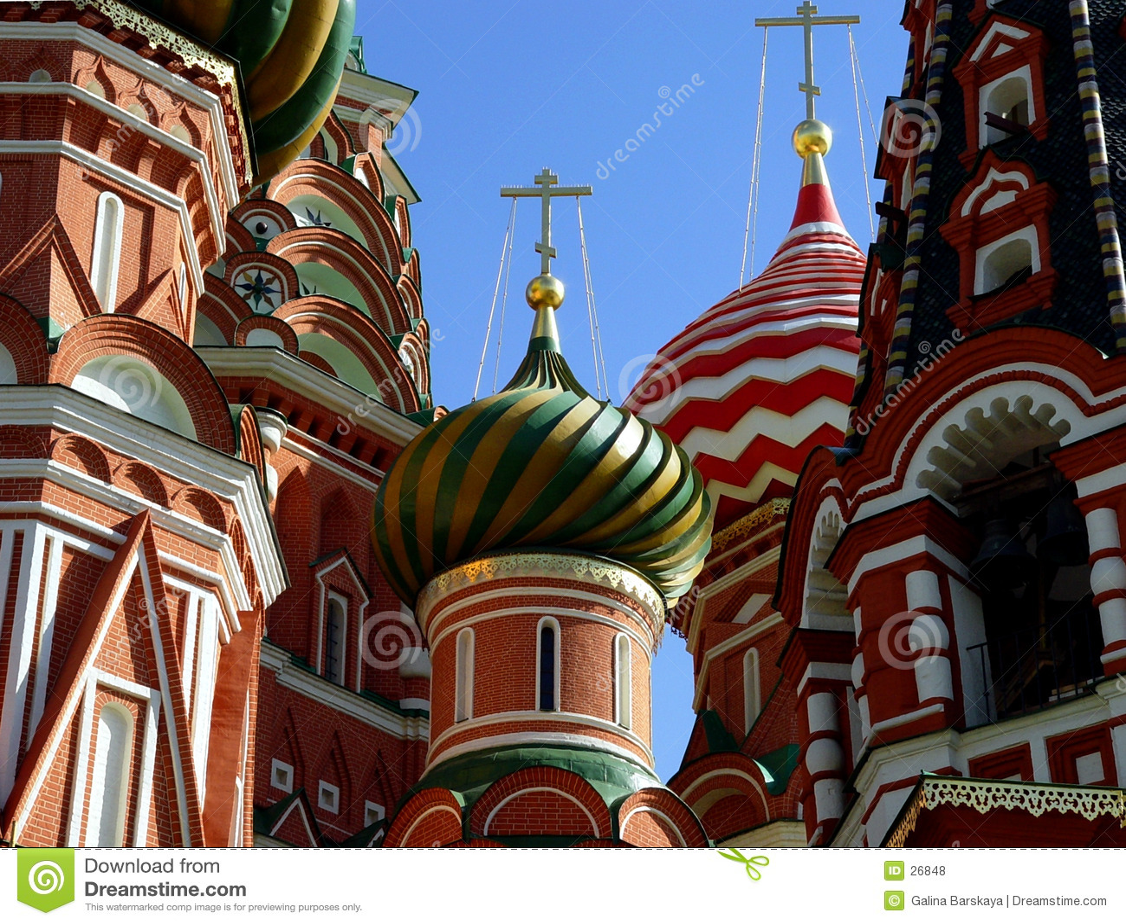 Basilikadomkyrkamoscow russia st