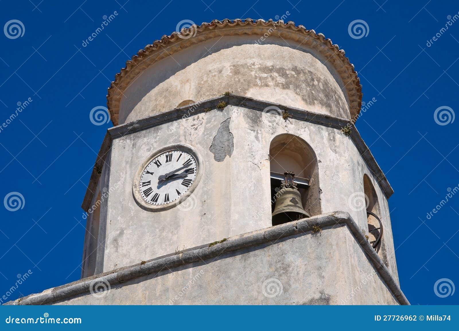 Basilikakirche von St. Biagio. Maratea. Basilikata. Italien.